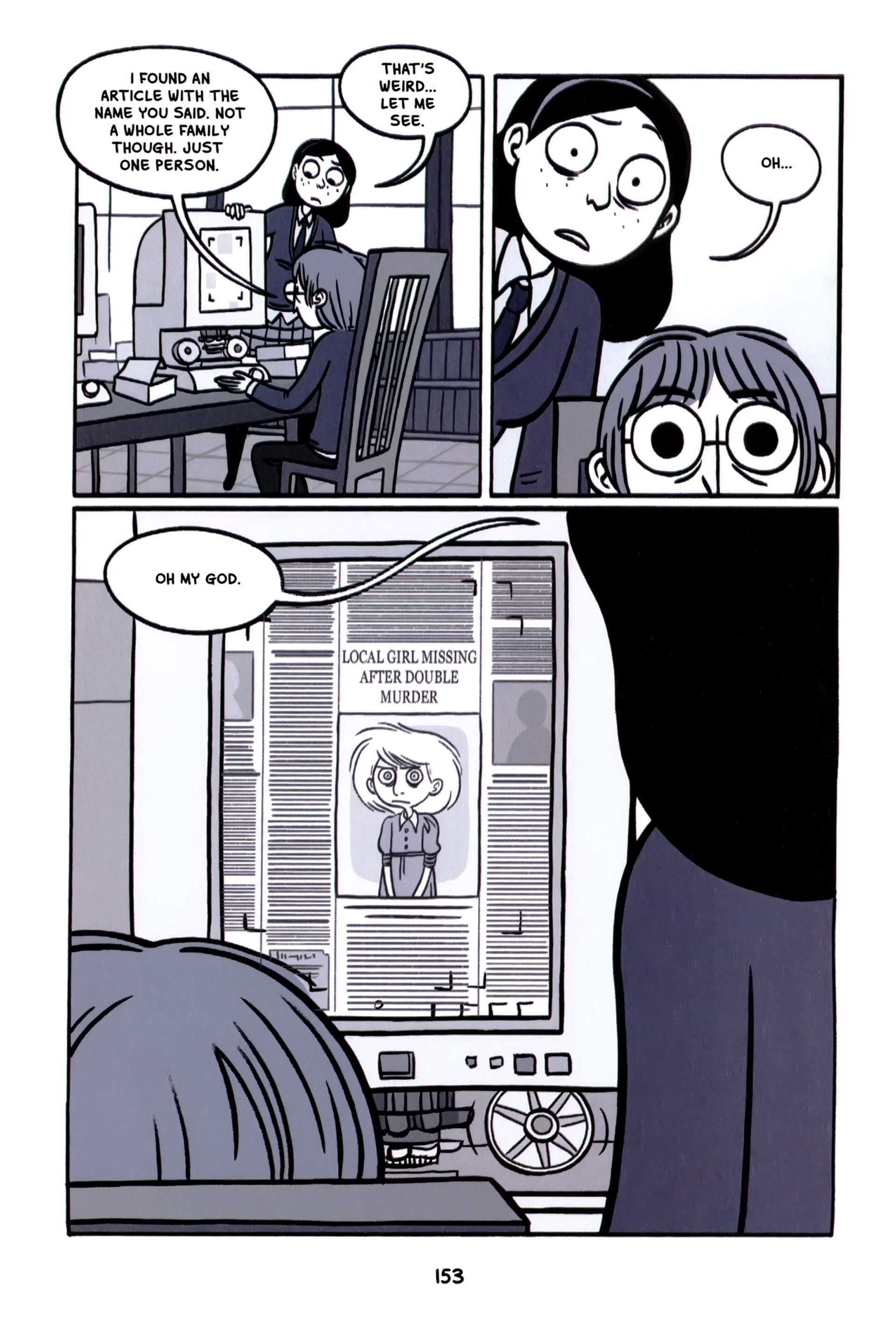 Read online Anya's Ghost comic -  Issue #1 - 154