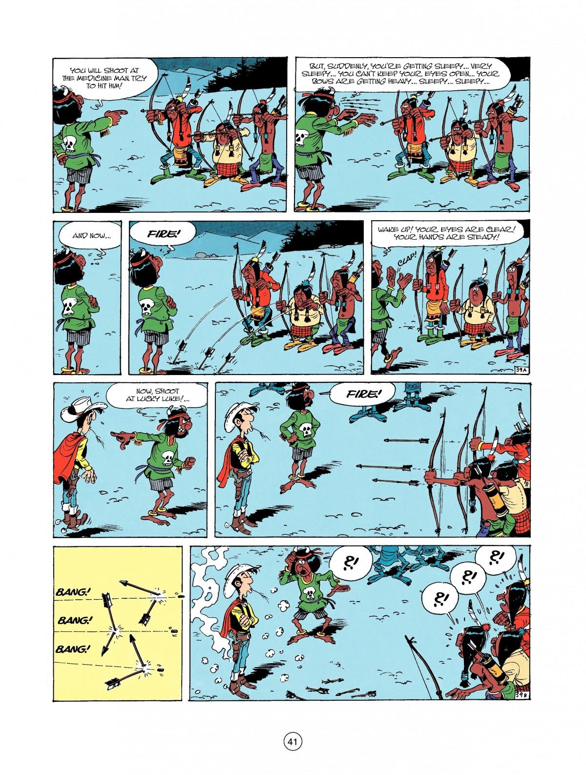 Read online A Lucky Luke Adventure comic -  Issue #37 - 41