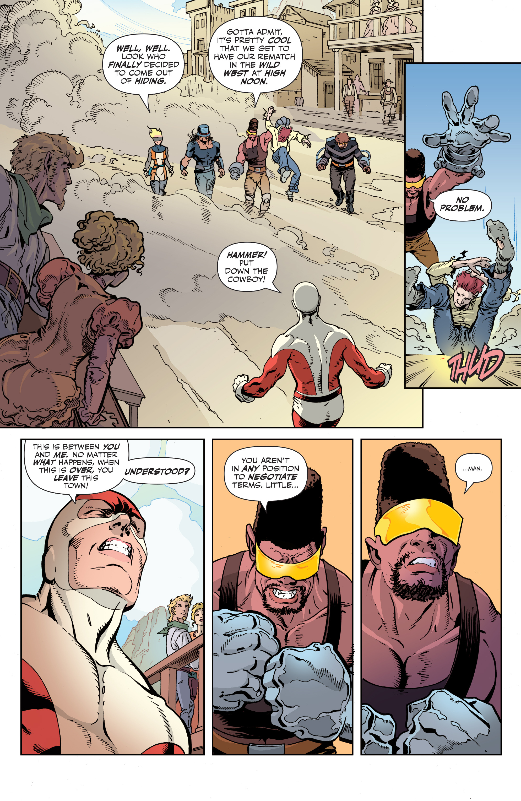 Read online All-New Classic Captain Canuck comic -  Issue #2 - 12