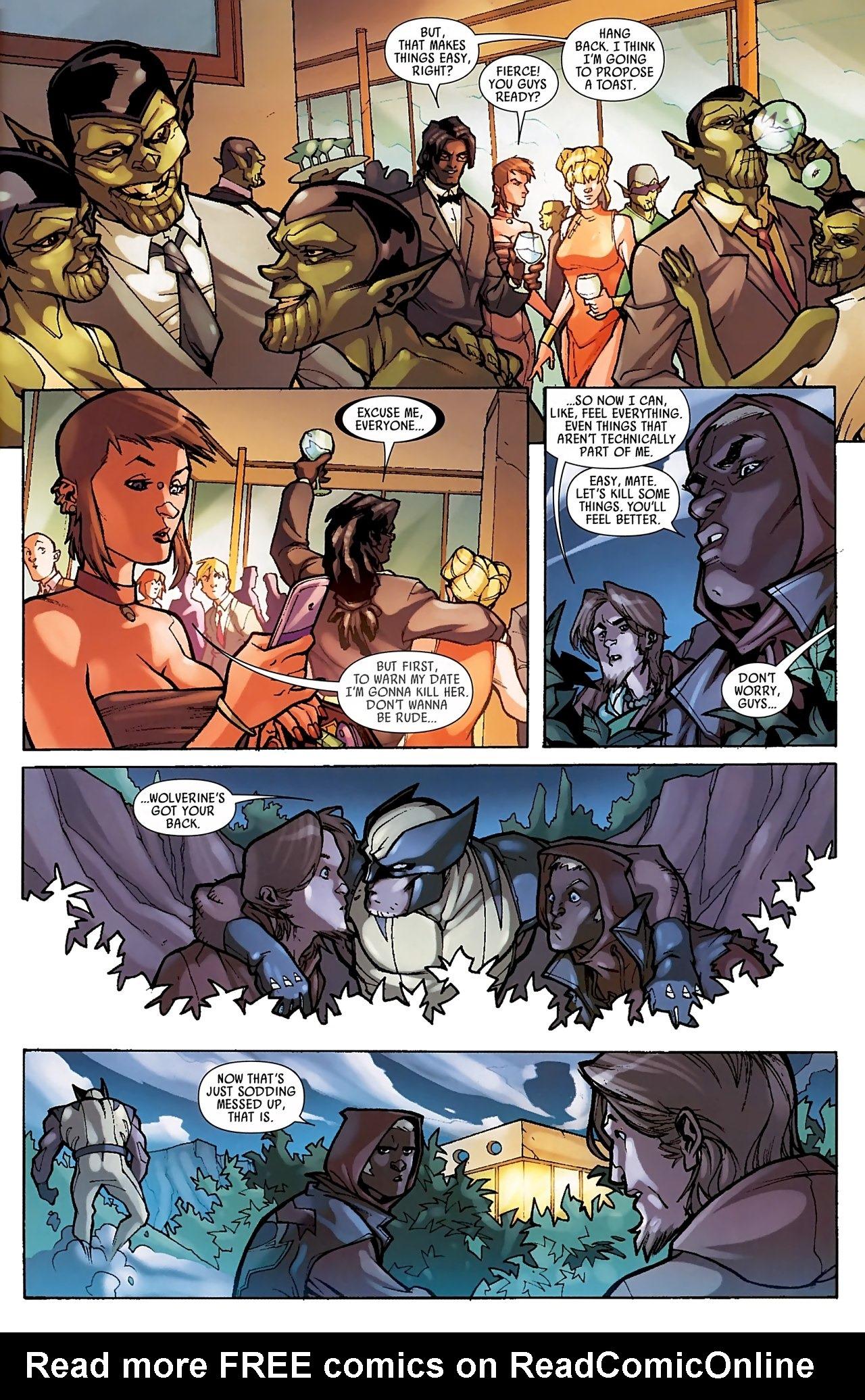 Read online Skrull Kill Krew (2009) comic -  Issue #3 - 18