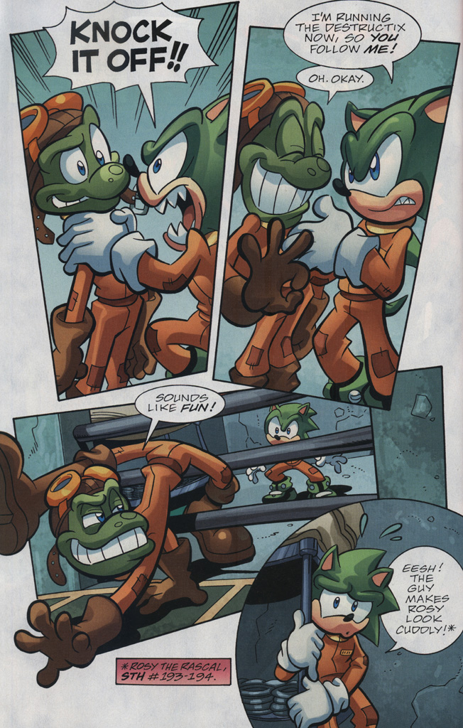 Read online Sonic Universe comic -  Issue #31 - 24
