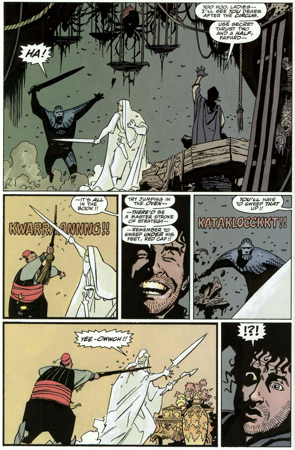 Read online Fafhrd and the Gray Mouser comic -  Issue #3 - 46
