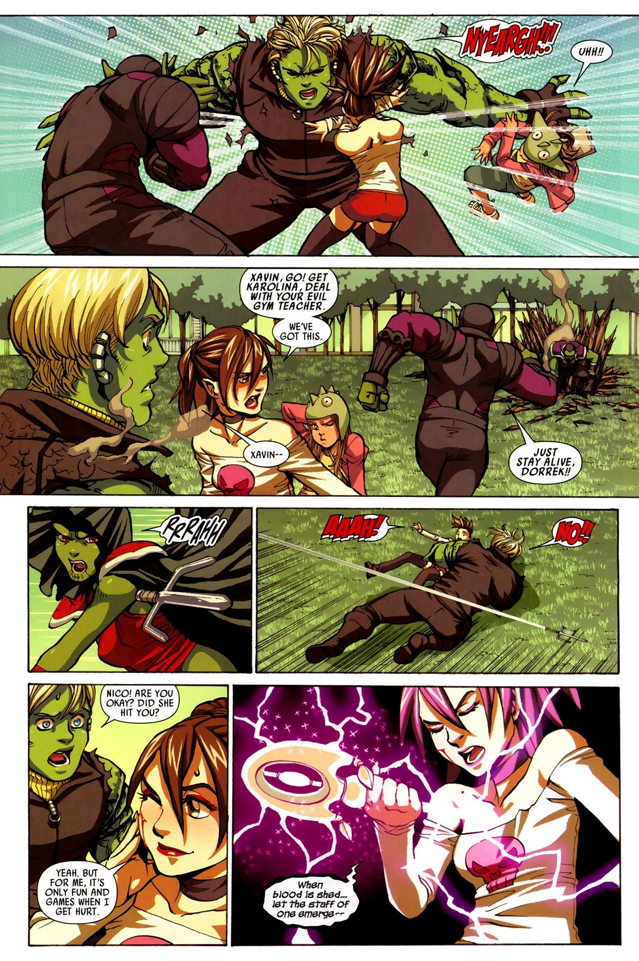 Read online Secret Invasion: Runaways/Young Avengers comic -  Issue #3 - 15