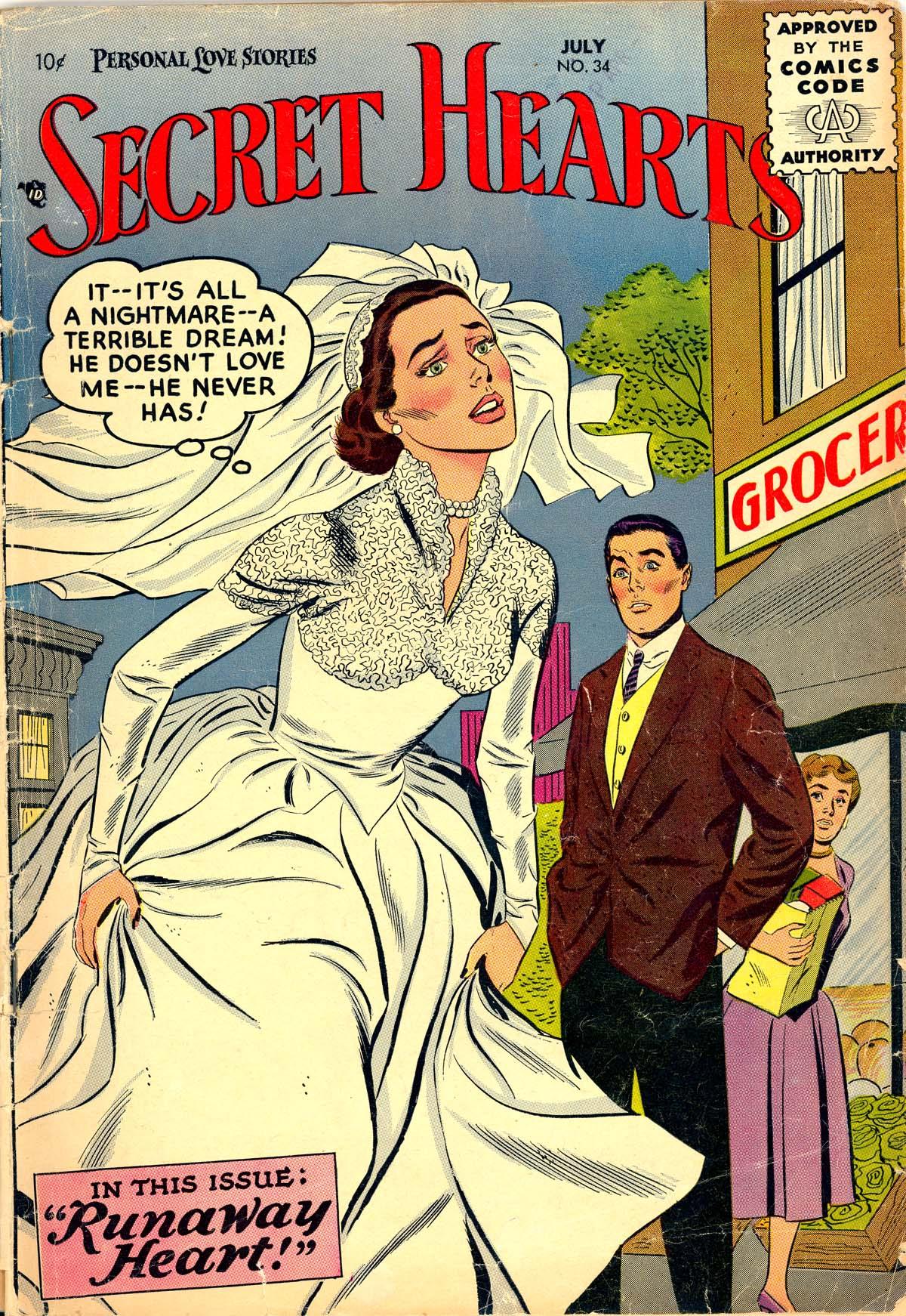Read online Secret Hearts comic -  Issue #34 - 1