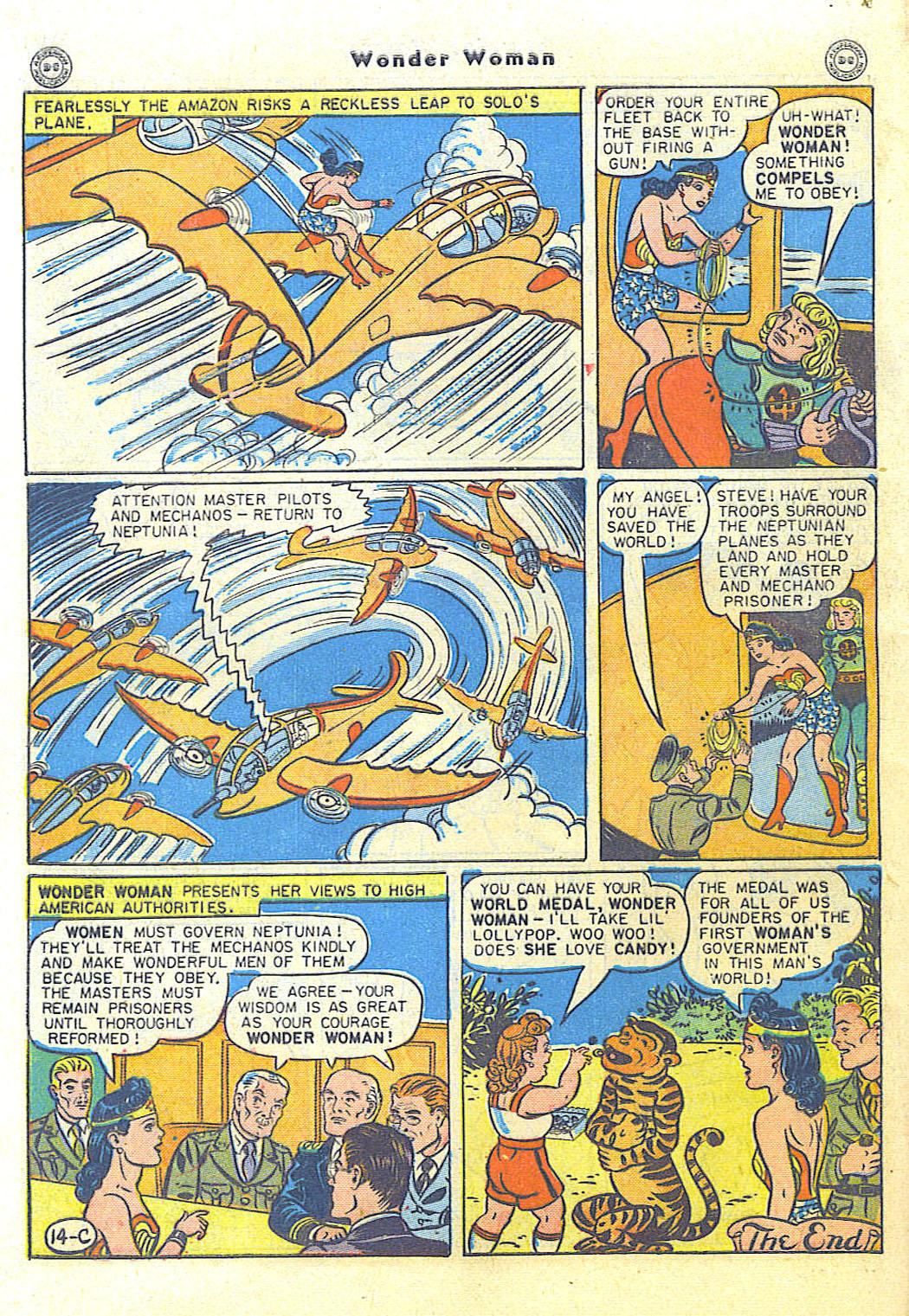 Read online Wonder Woman (1942) comic -  Issue #15 - 48