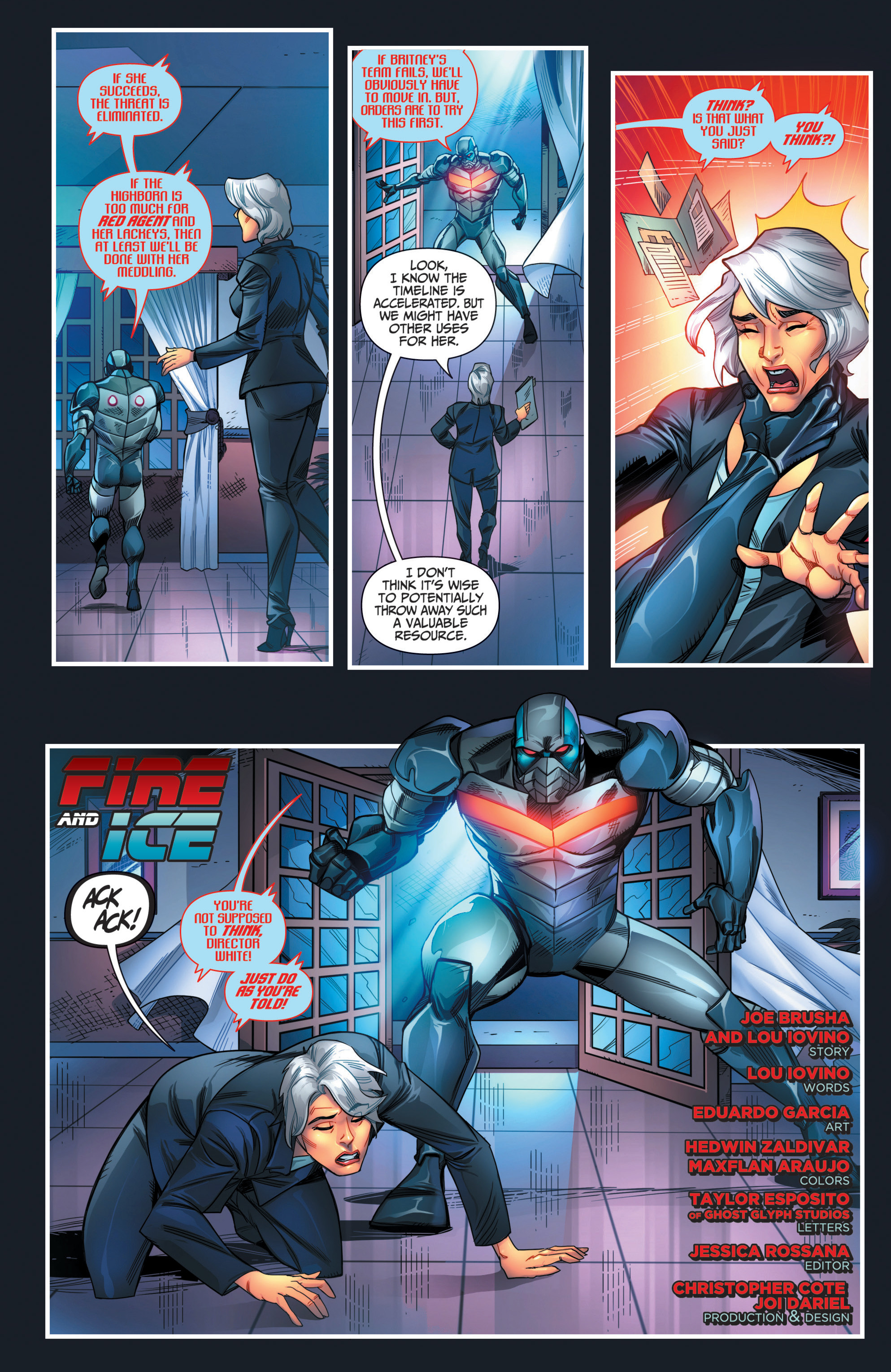 Read online Grimm Fairy Tales presents Red Agent: The Human Order comic -  Issue #7 - 5
