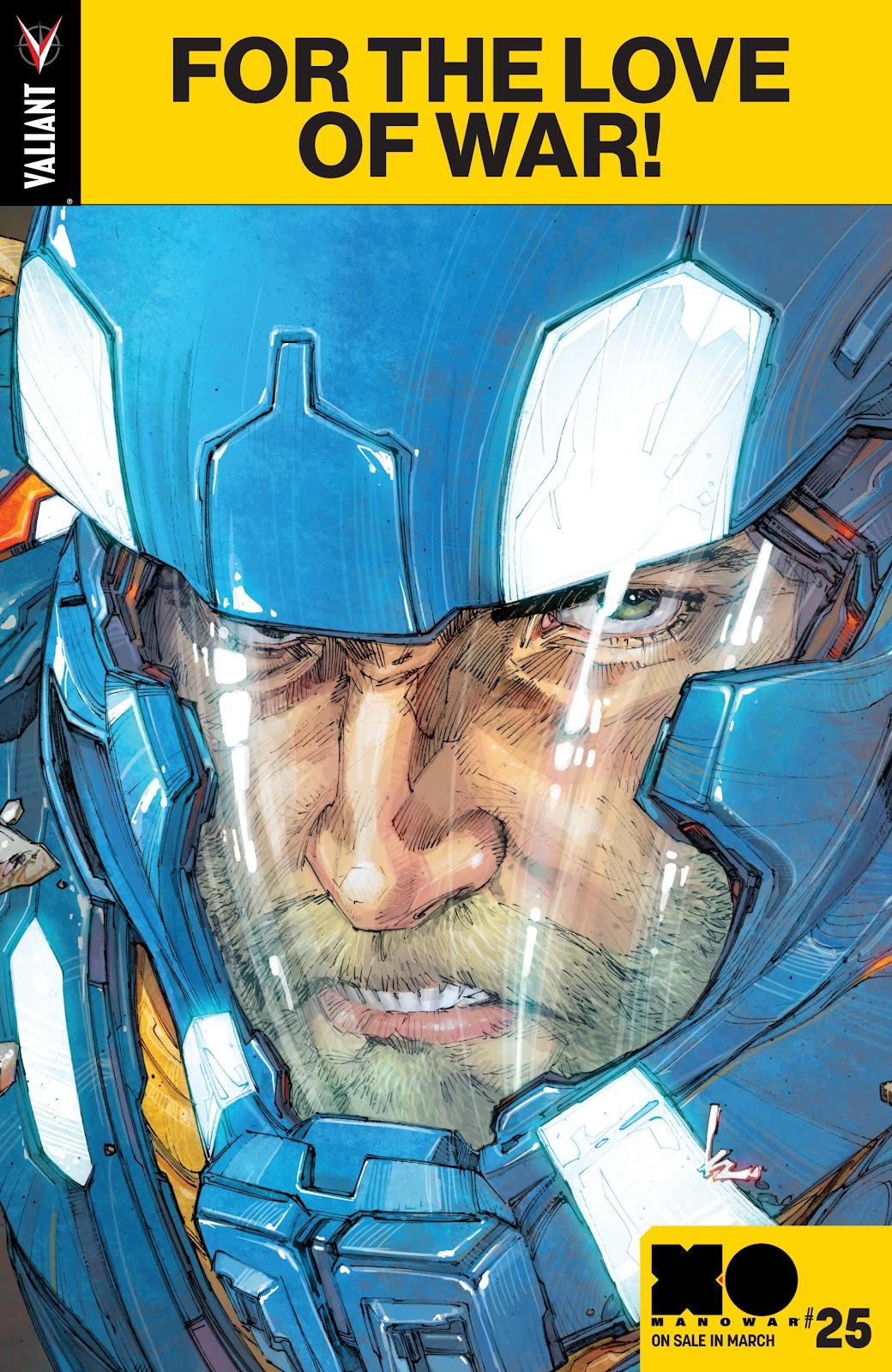 Read online X-O Manowar (2017) comic -  Issue #24 - 23