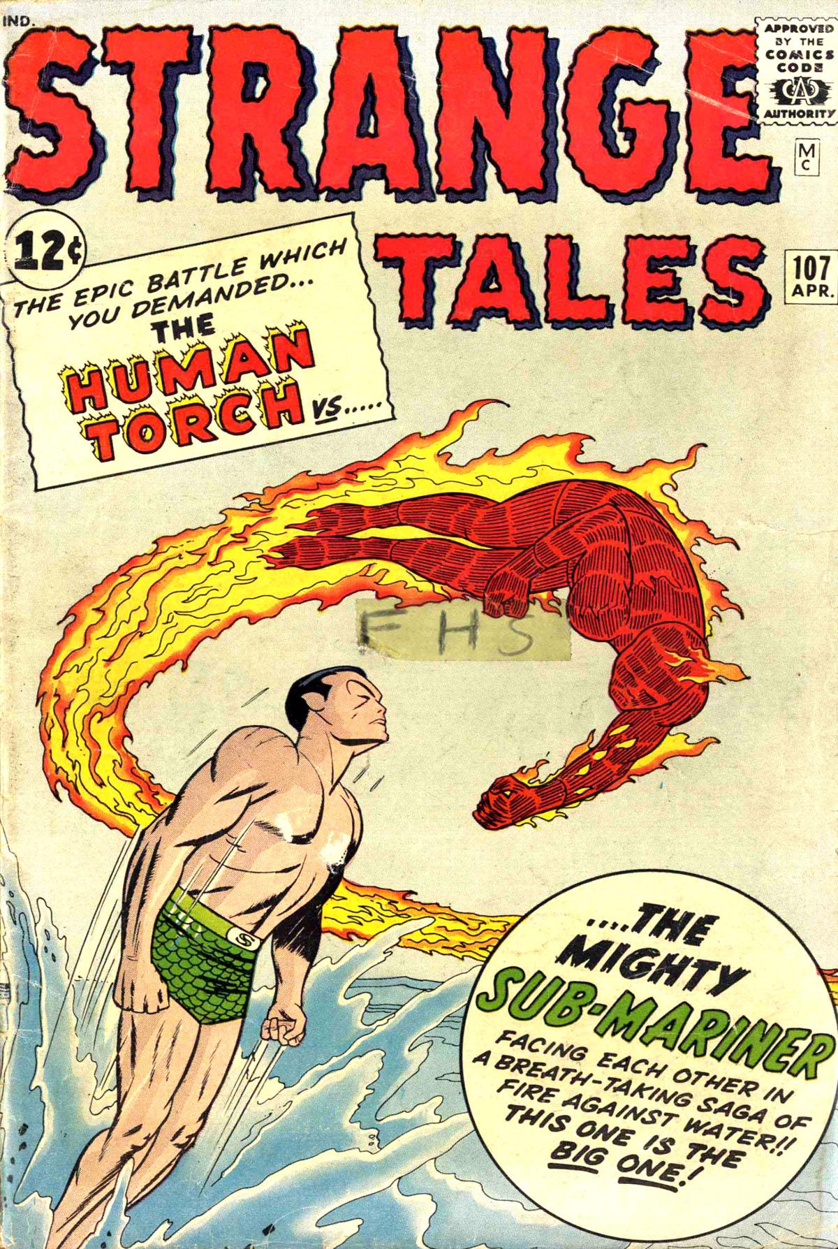 Strange Tales (1951) 107 Page 1