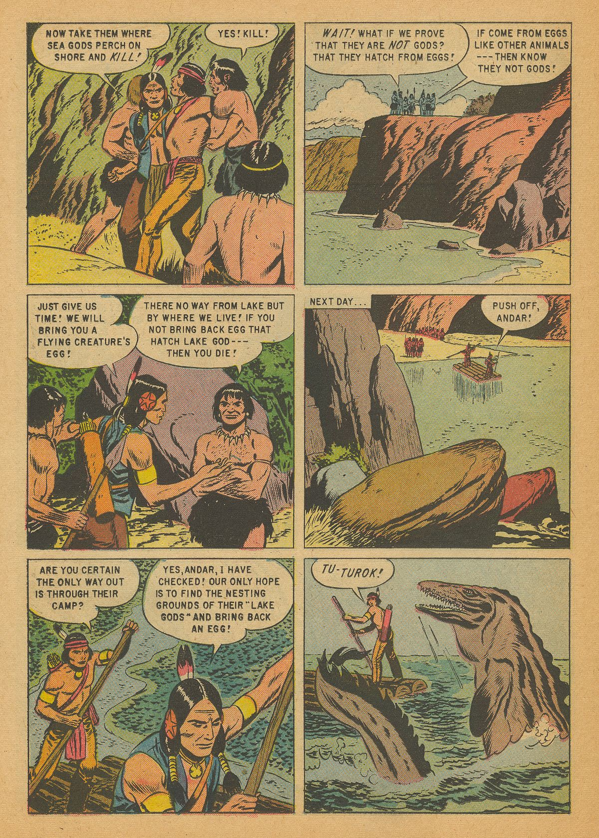 Read online Turok, Son of Stone comic -  Issue #14 - 26