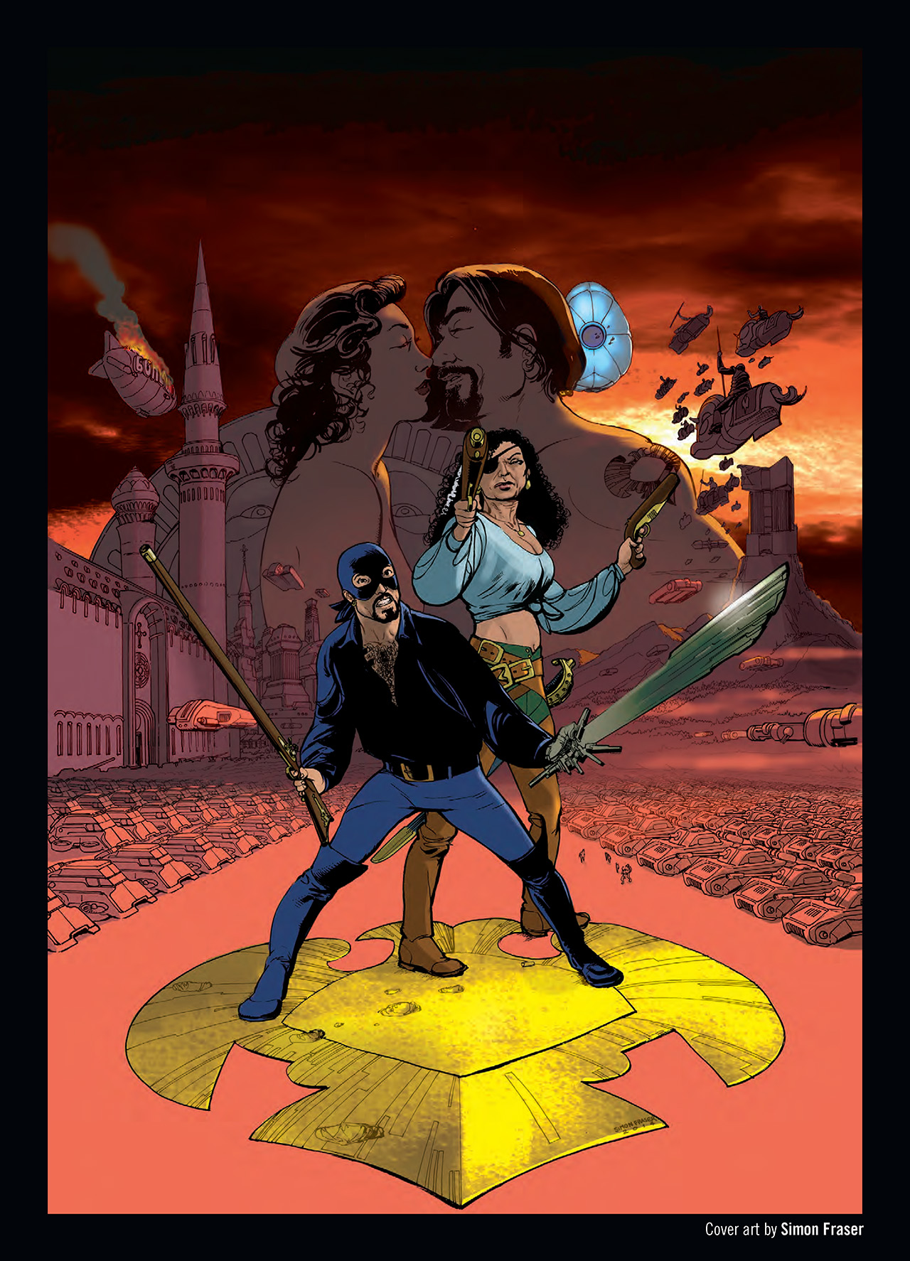 Read online Nikolai Dante comic -  Issue # TPB 3 - 133