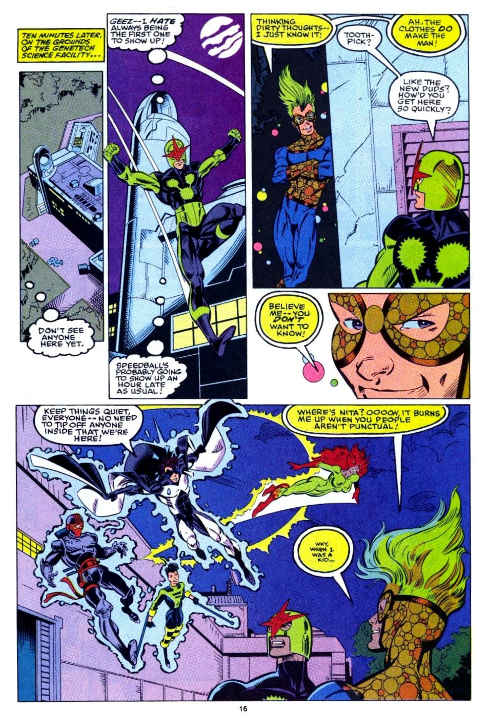 The New Warriors Issue #15 #19 - English 14