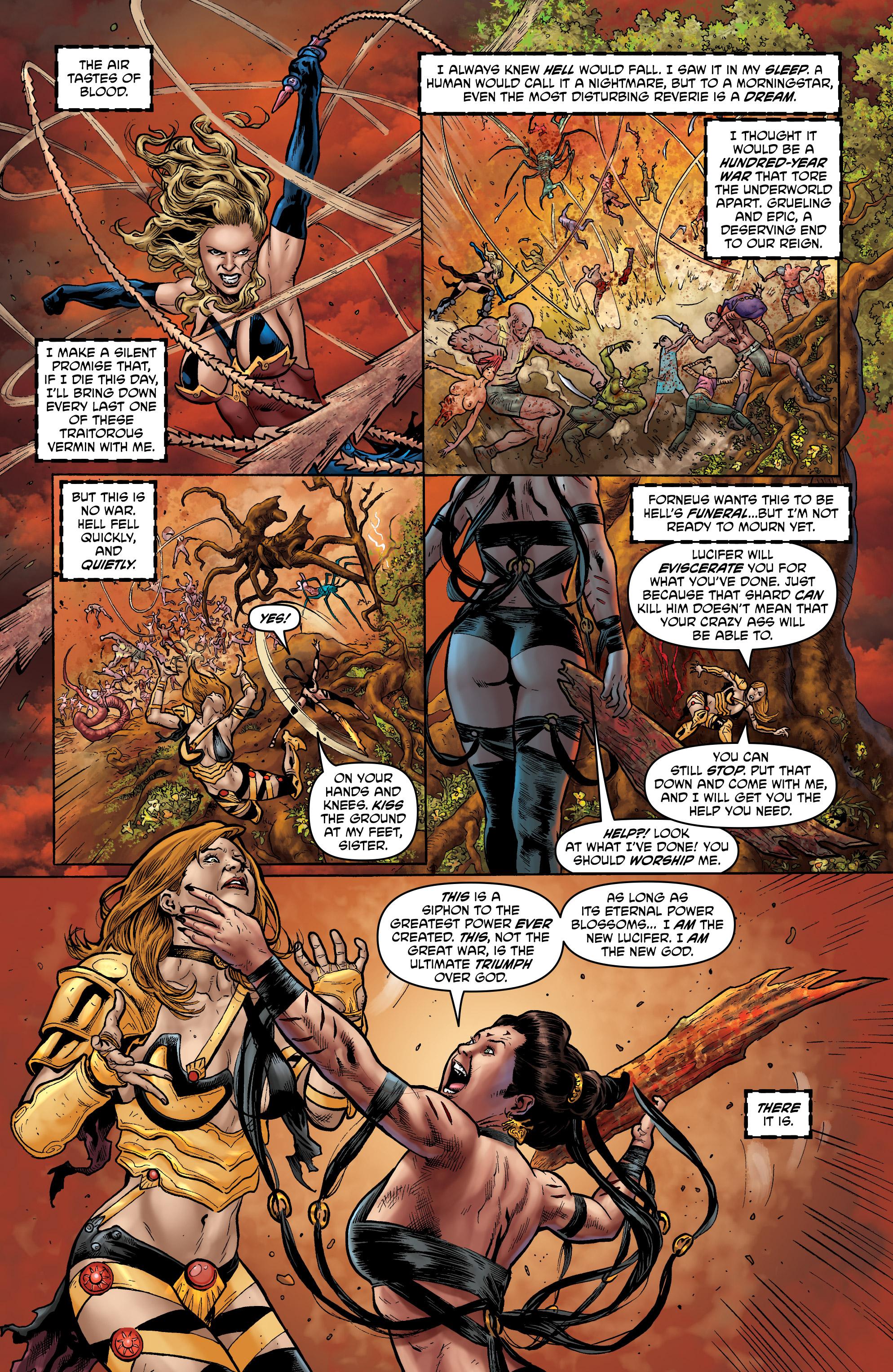 Read online Hellina: Scythe comic -  Issue #4 - 9