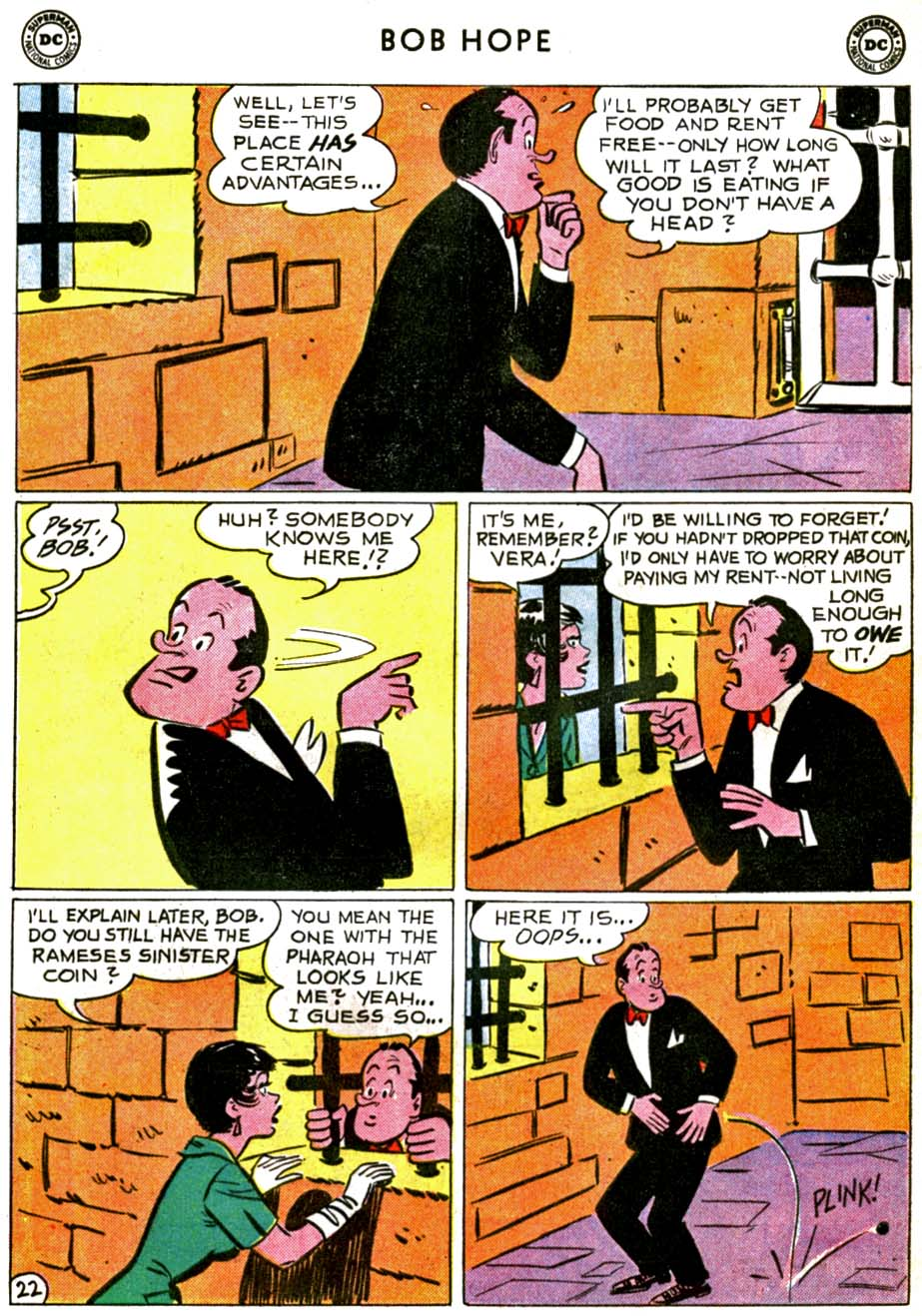 The Adventures of Bob Hope issue 71 - Page 28