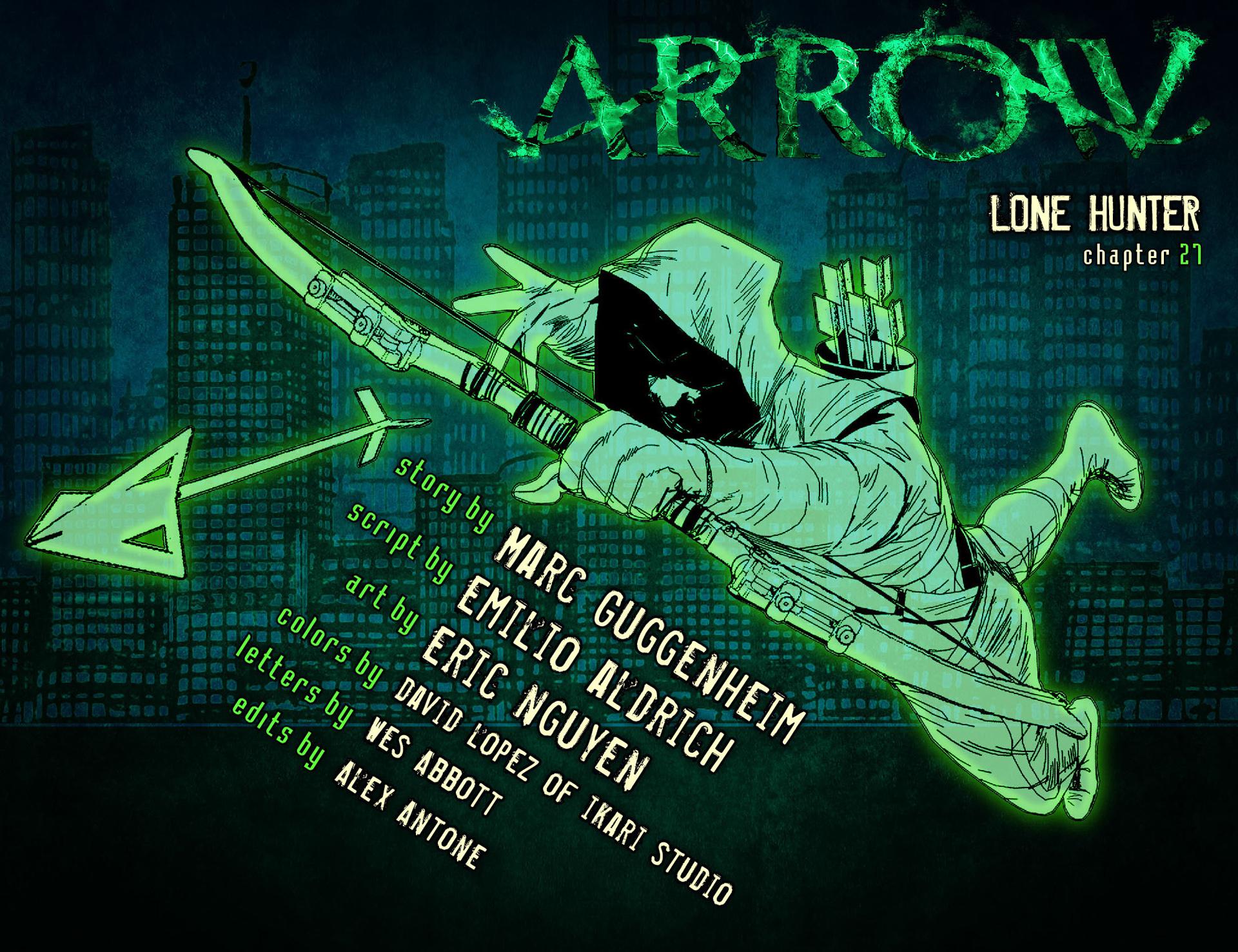 Read online Arrow [II] comic -  Issue #27 - 2