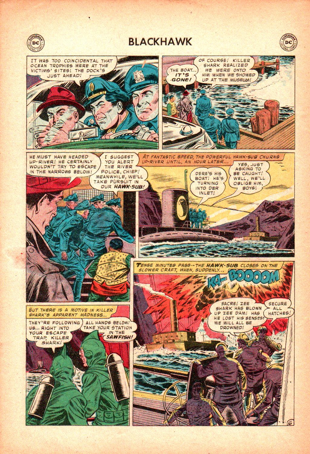 Blackhawk (1957) Issue #128 #21 - English 30