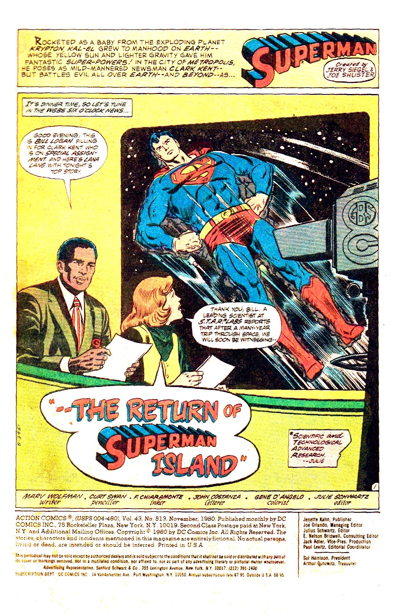 Action Comics (1938) 513 Page 2