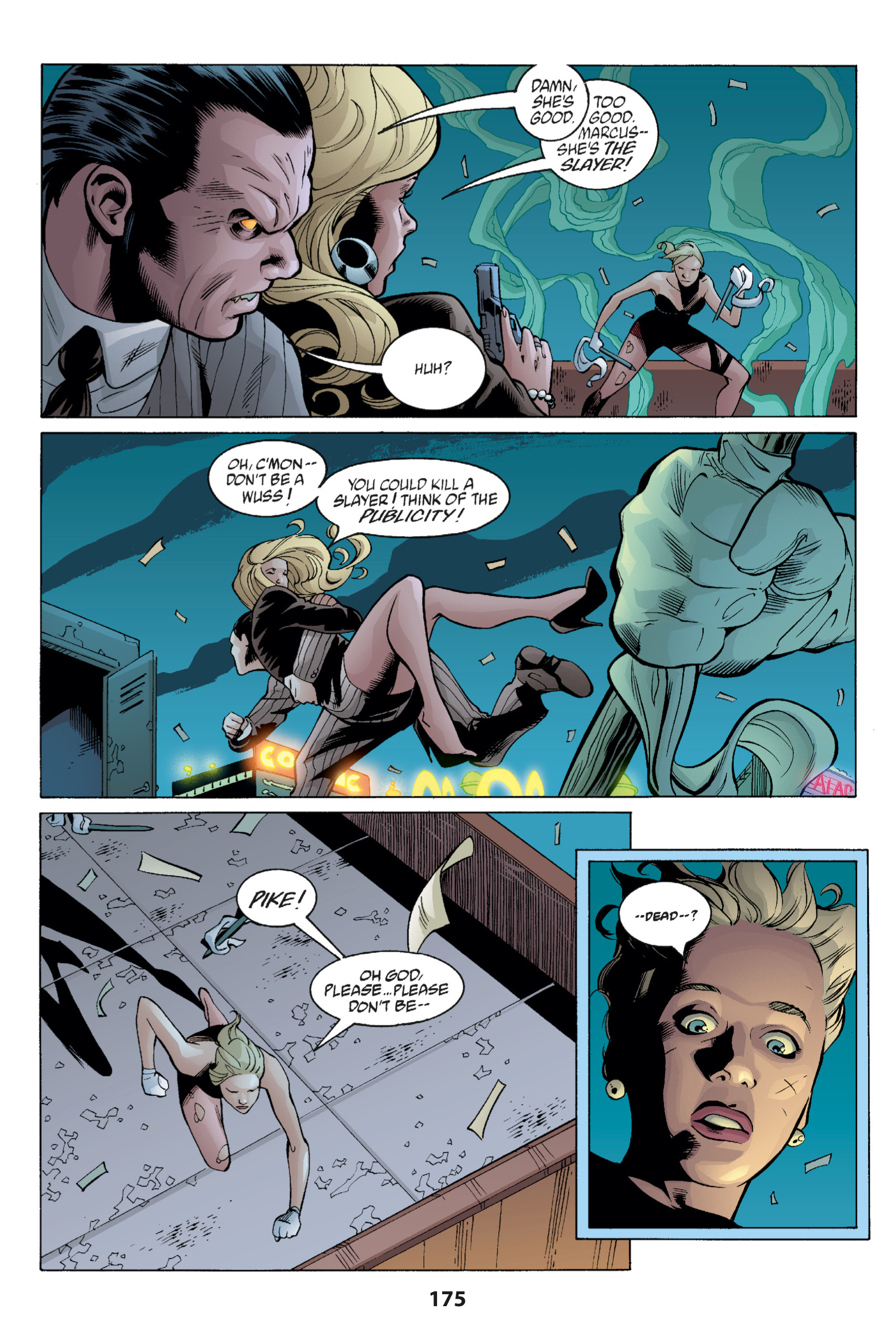 Read online Buffy the Vampire Slayer: Omnibus comic -  Issue # TPB 1 - 173