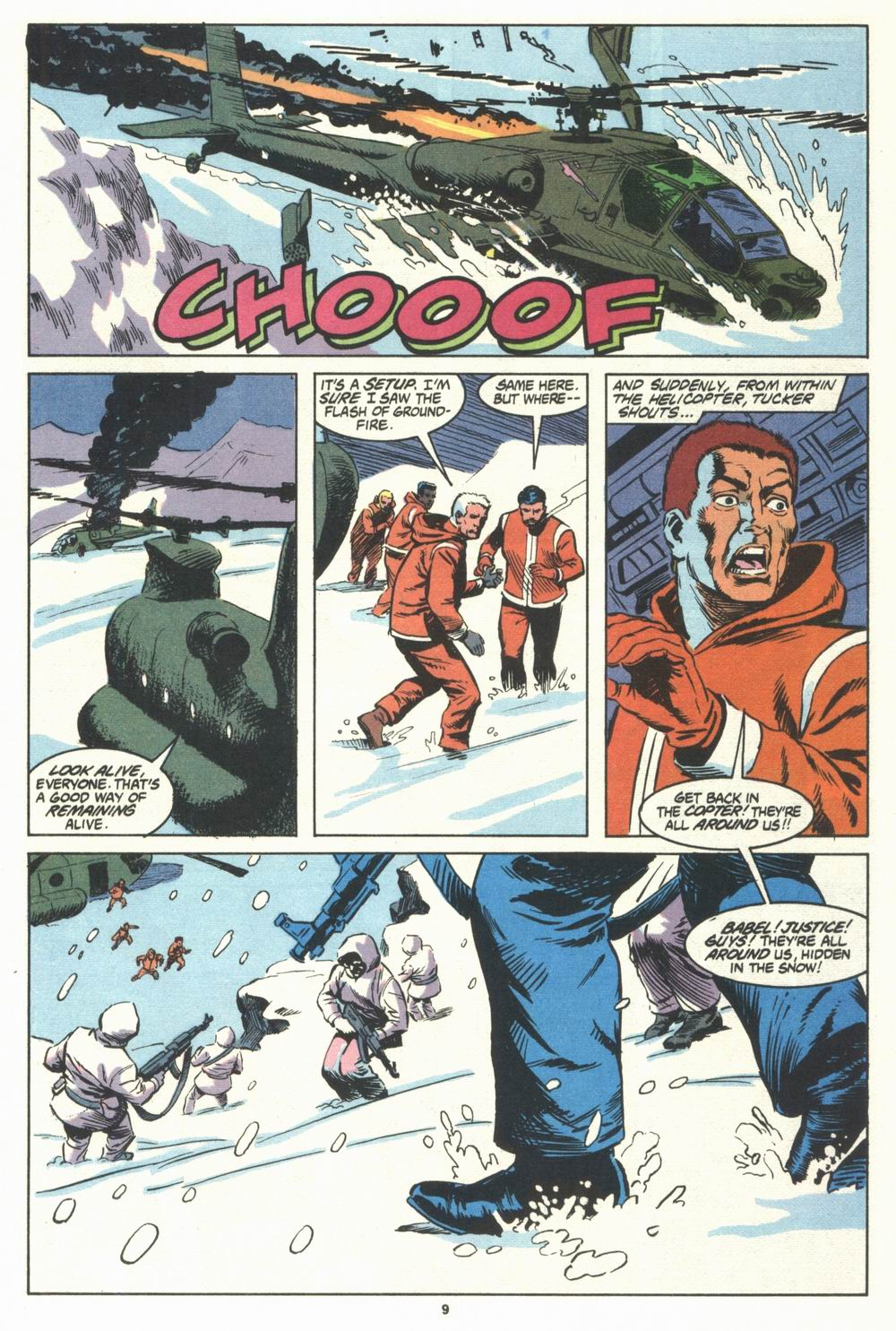 Read online Justice (1986) comic -  Issue #29 - 10