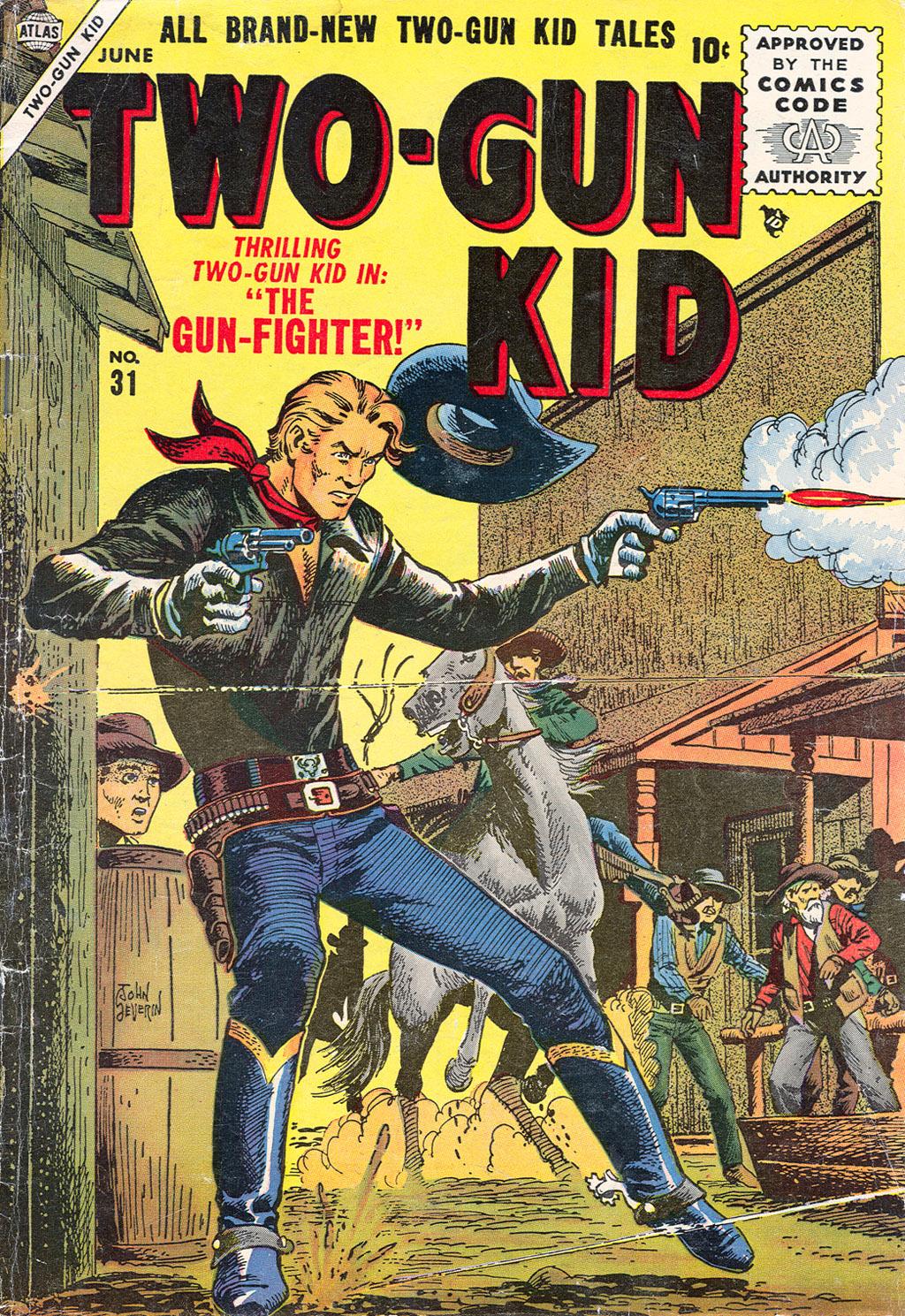 Read online Two-Gun Kid comic -  Issue #31 - 1