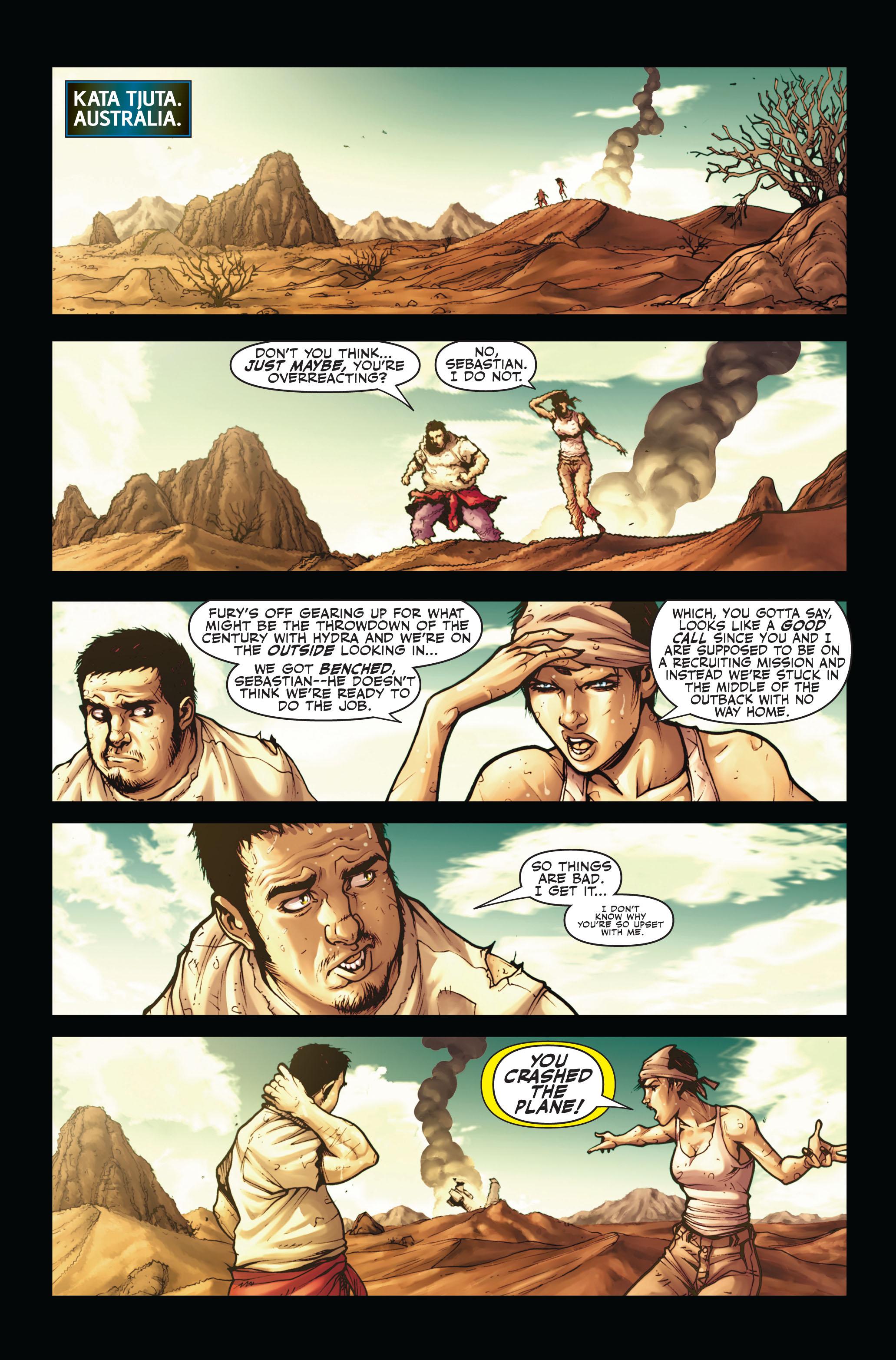 Read online Secret Warriors comic -  Issue #4 - 4