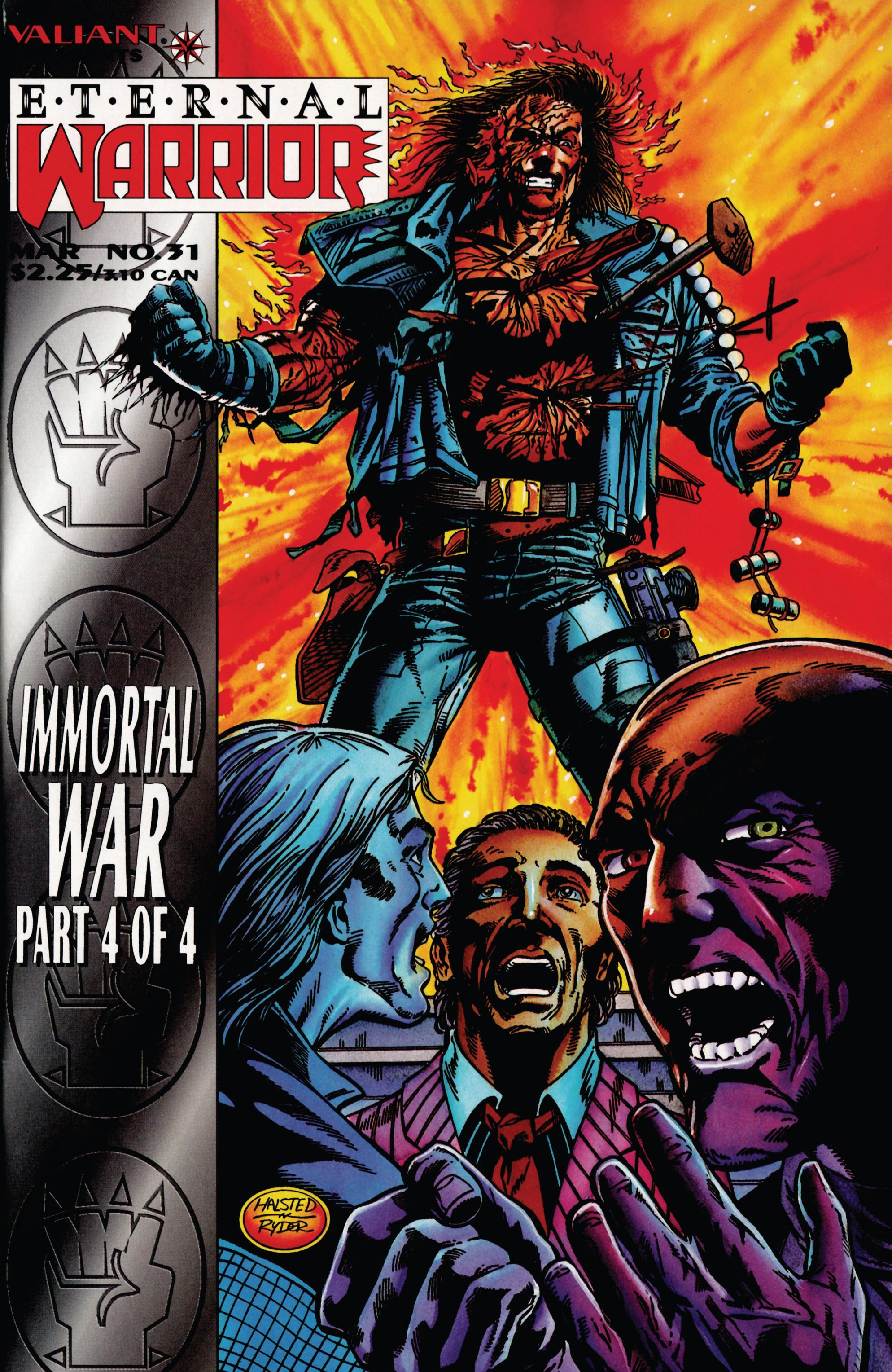 Read online Eternal Warrior (1992) comic -  Issue #31 - 1