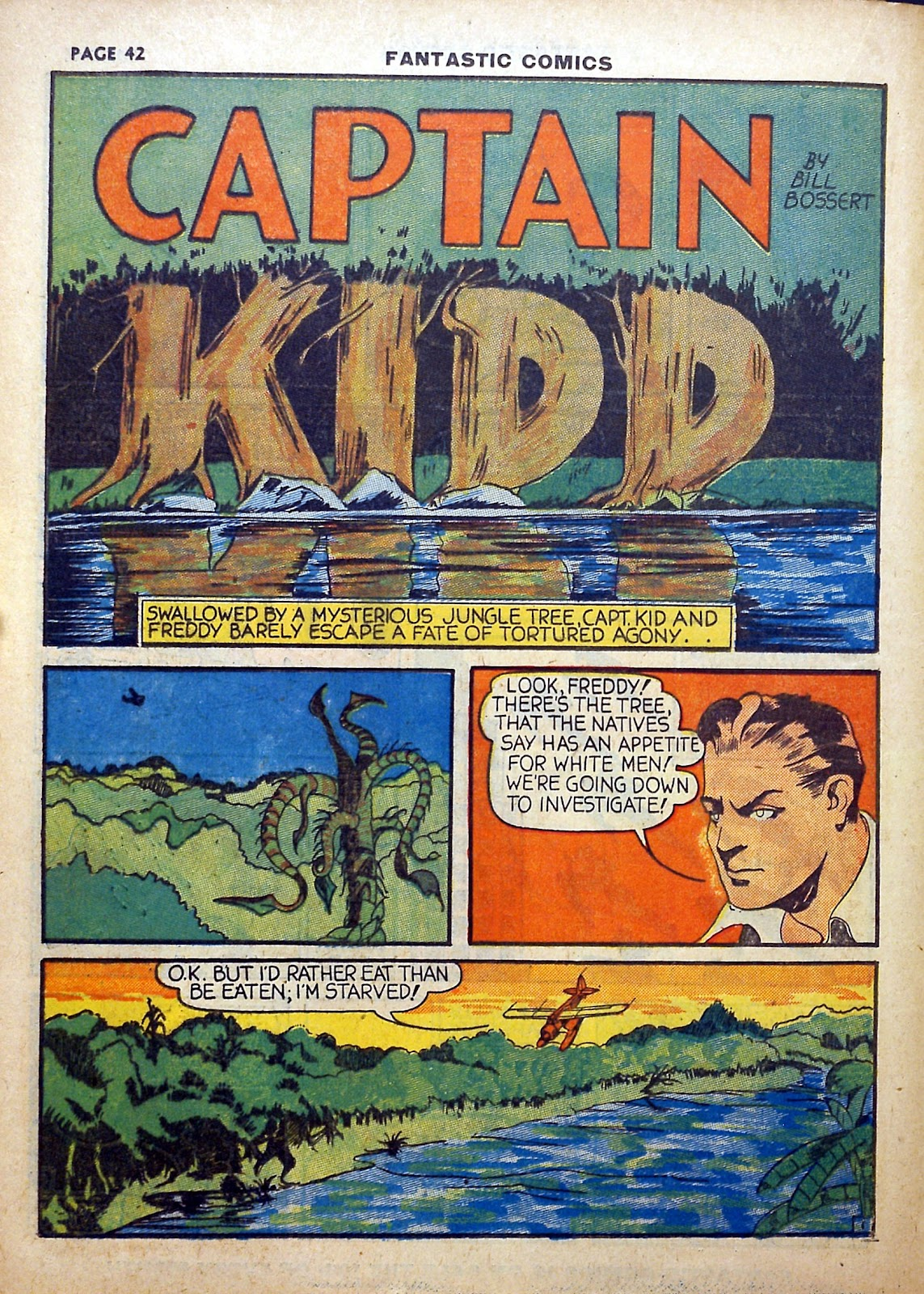 Read online Fantastic Comics comic -  Issue #5 - 43