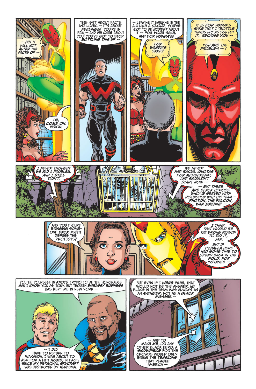 Read online Avengers (1998) comic -  Issue #23 - 10