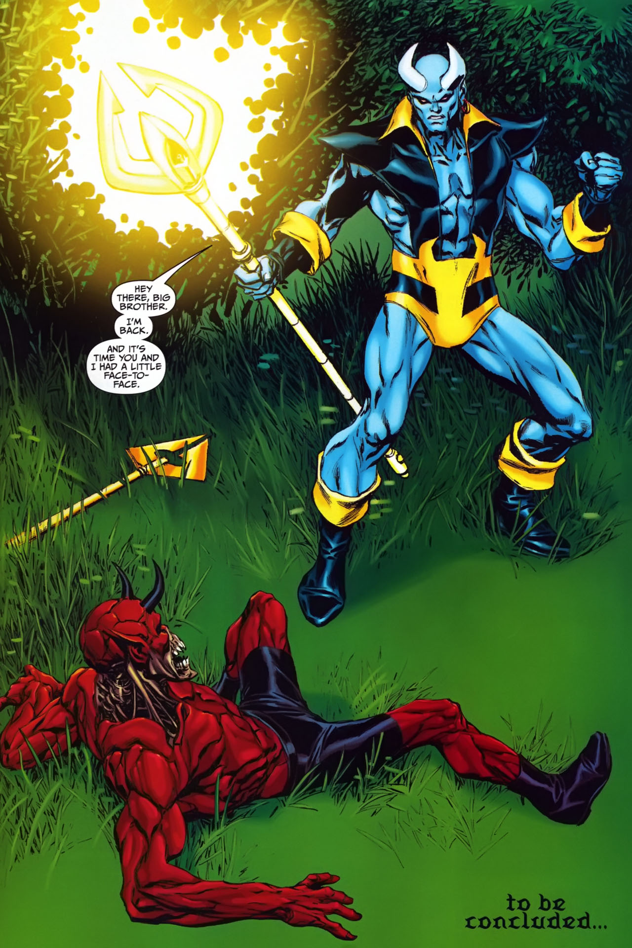 Read online Shadowpact comic -  Issue #24 - 21