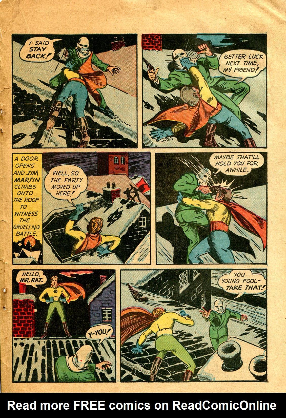 Read online Shadow Comics comic -  Issue #9 - 45