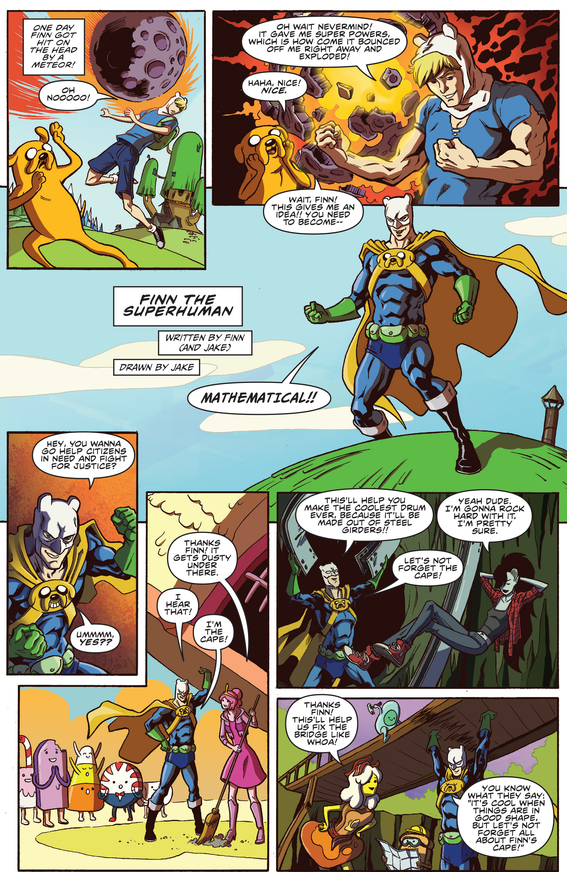 Read online Adventure Time comic -  Issue #30 - 20