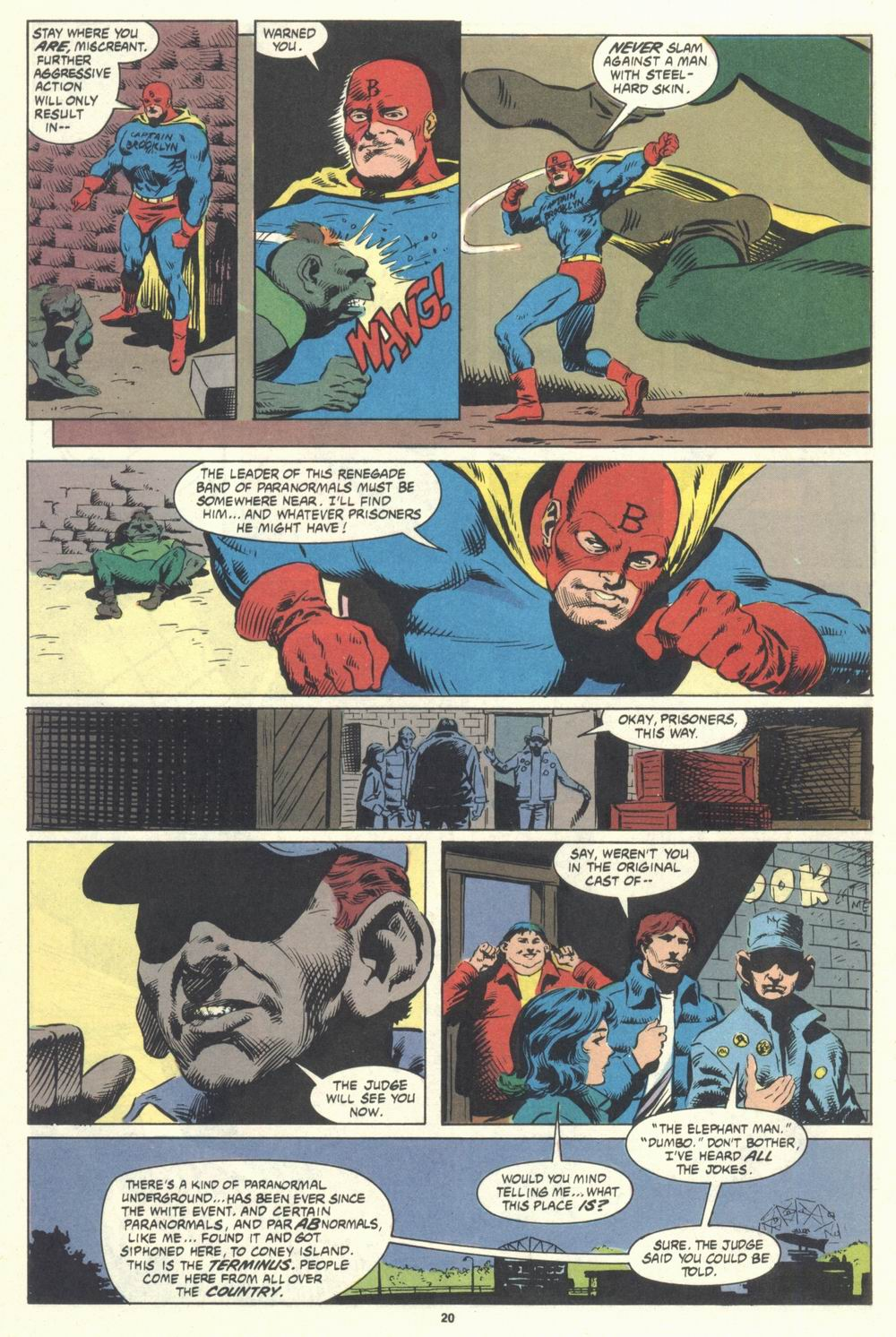 Read online Justice (1986) comic -  Issue #31 - 22
