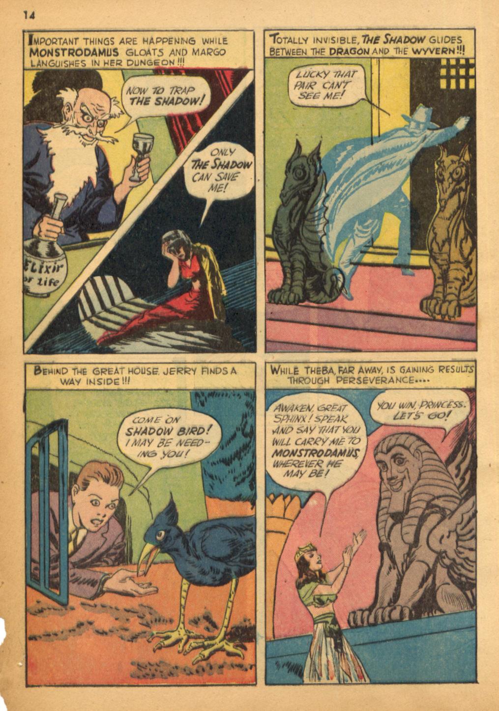 Read online Shadow Comics comic -  Issue #32 - 15