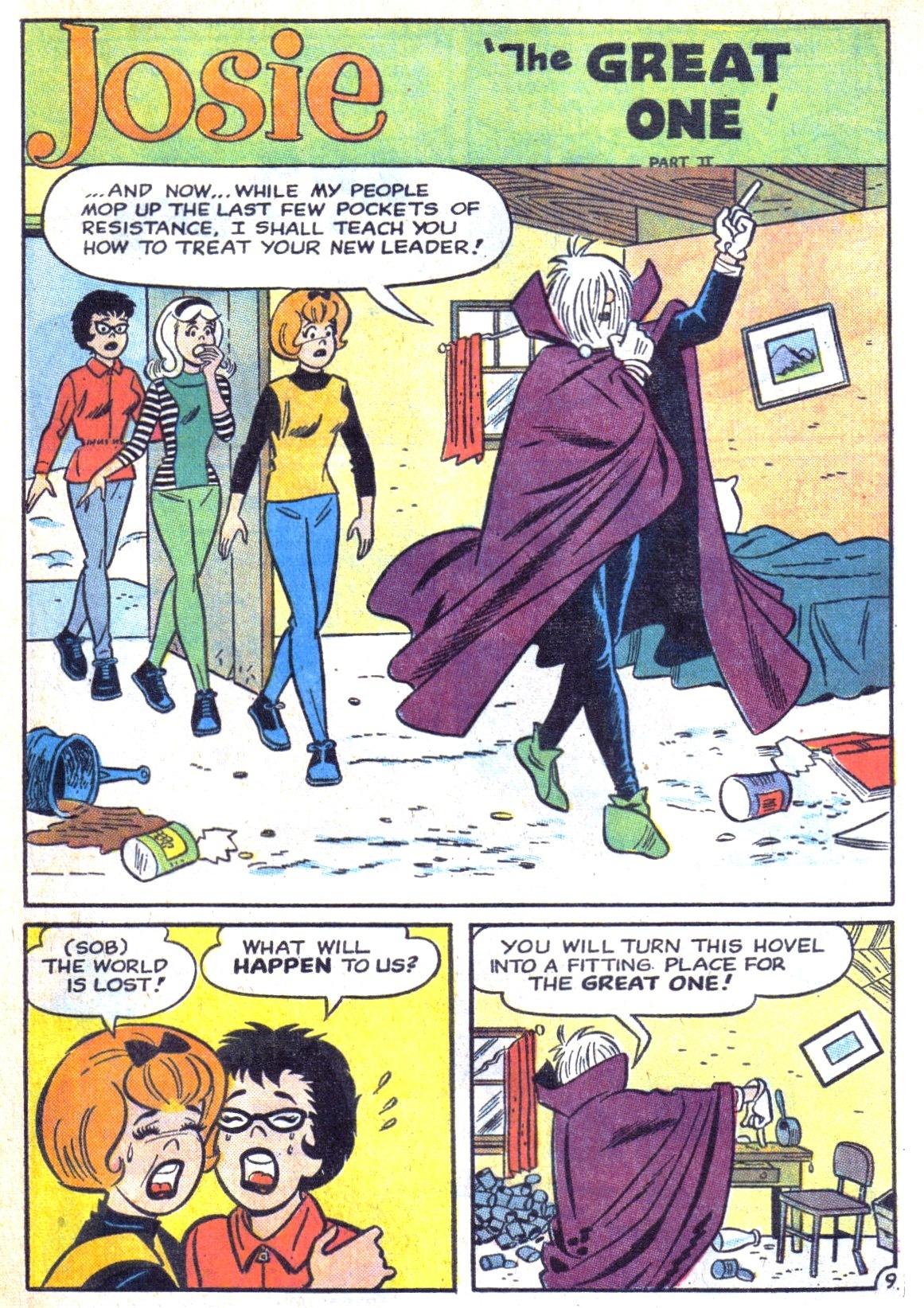 Read online She's Josie comic -  Issue #11 - 13