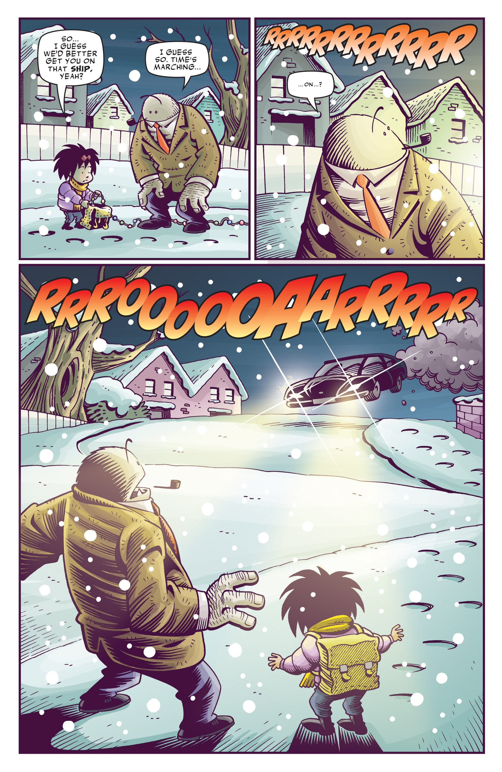 Read online Abigail And The Snowman comic -  Issue #4 - 10