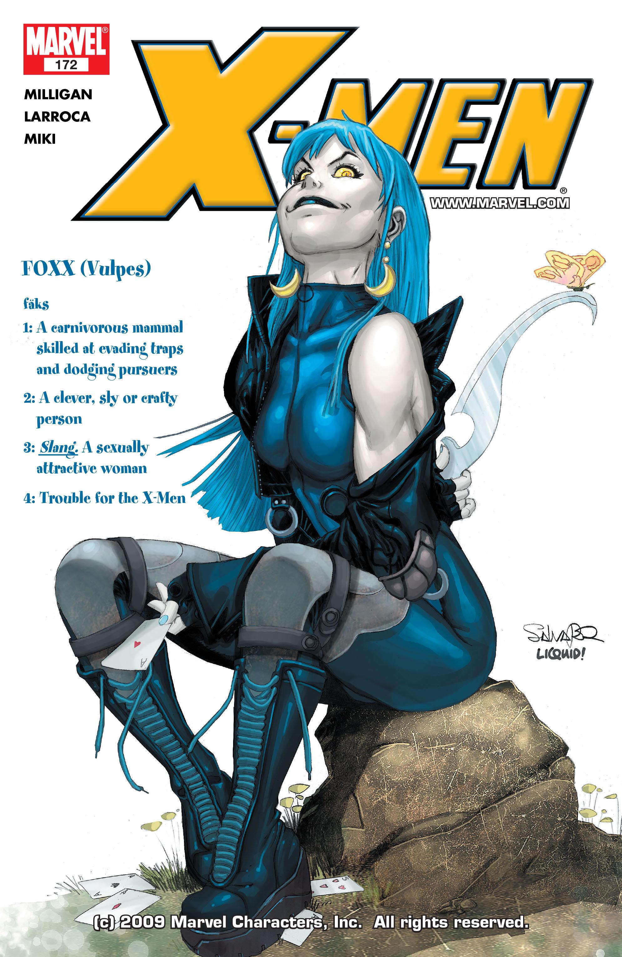 X-Men (1991) 172 Page 0