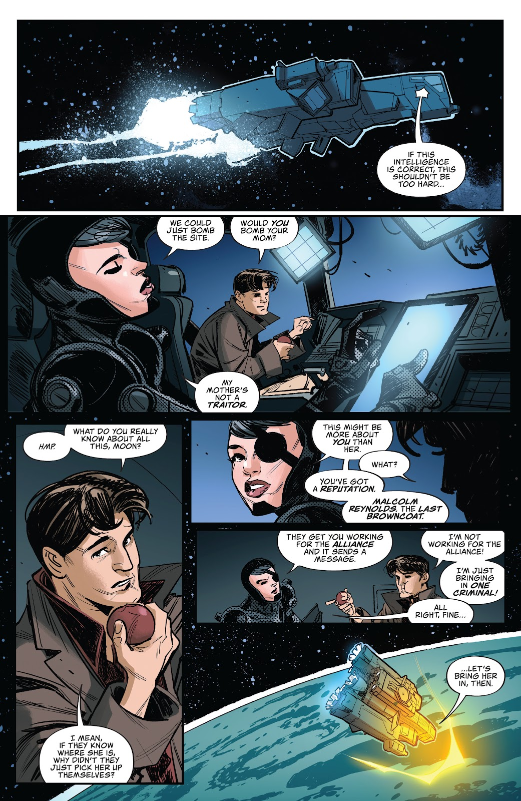 Read online Firefly: The Outlaw Ma Reynolds comic -  Issue # Full - 11