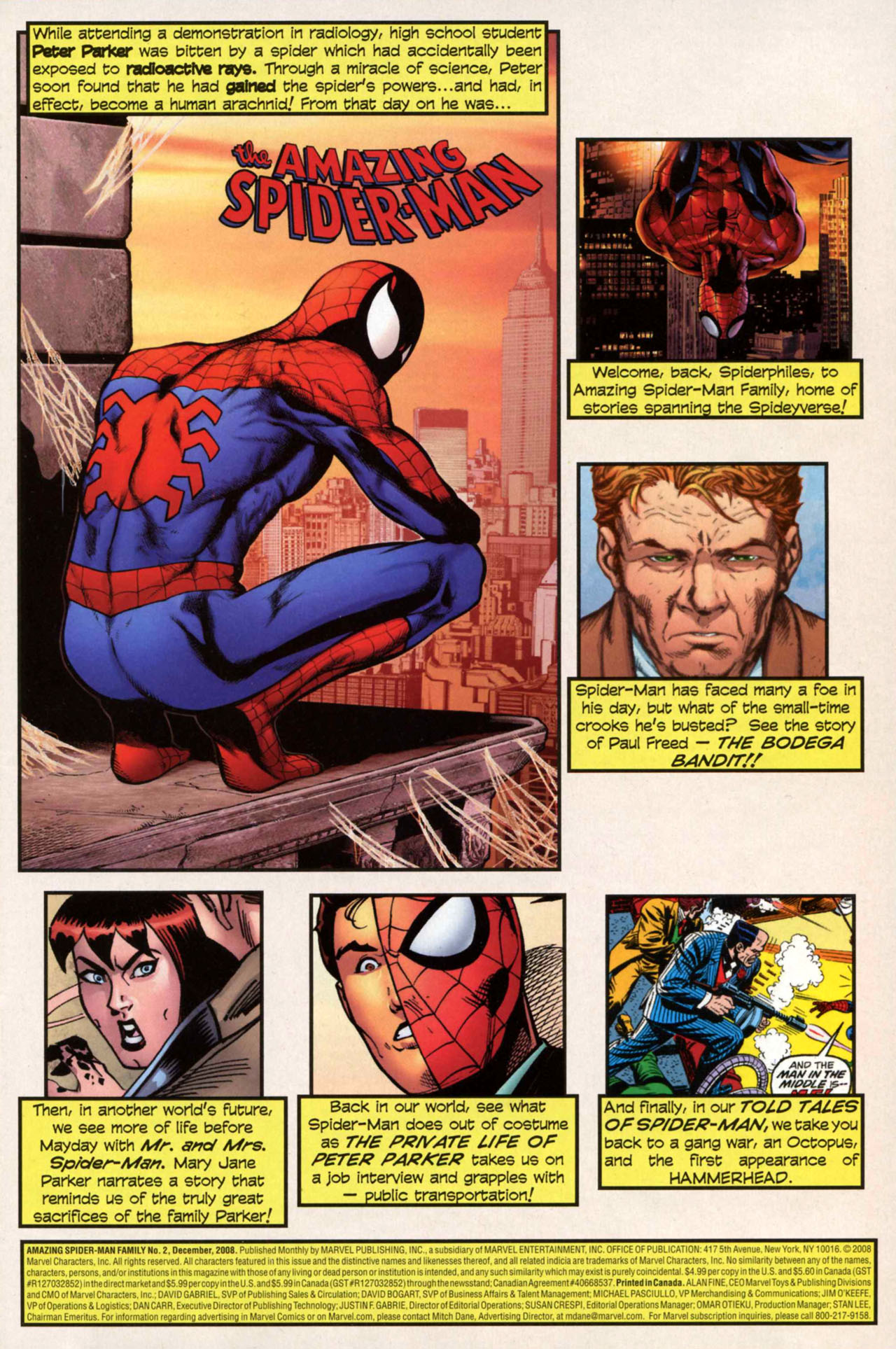 Read online Amazing Spider-Man Family comic -  Issue #2 - 2