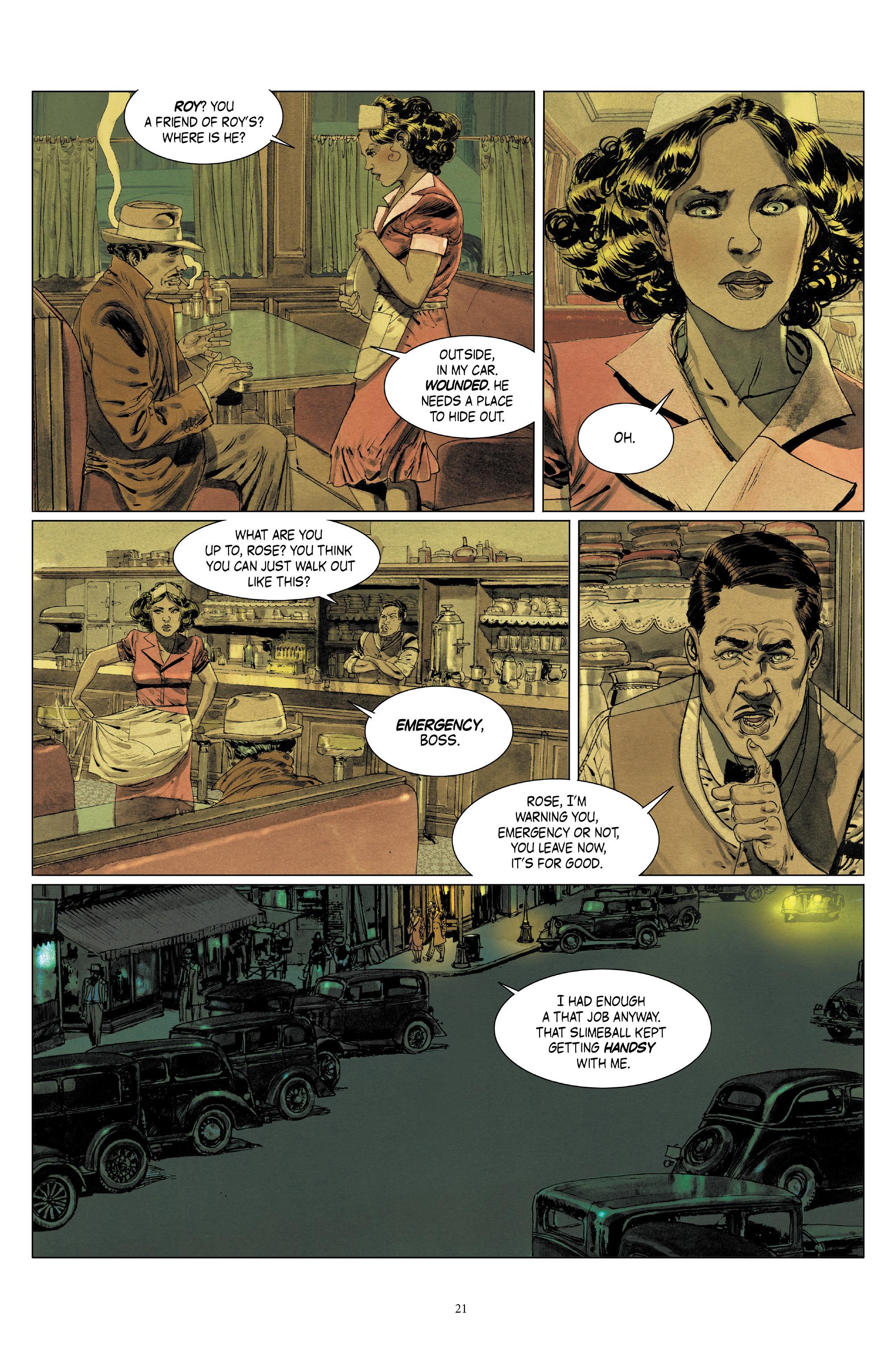 Read online Triggerman comic -  Issue #5 - 21