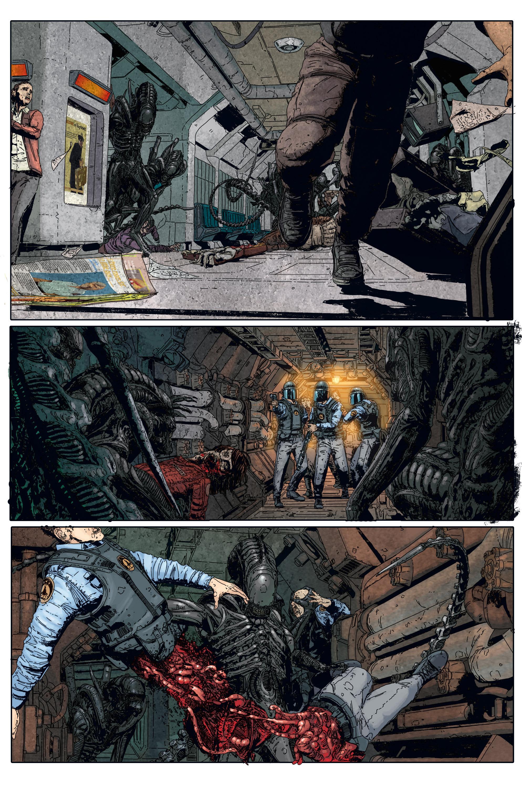 Read online Aliens: Defiance comic -  Issue #5 - 14