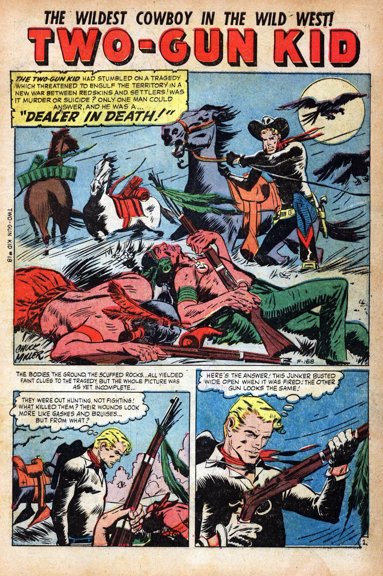 Read online Two-Gun Kid comic -  Issue #18 - 3