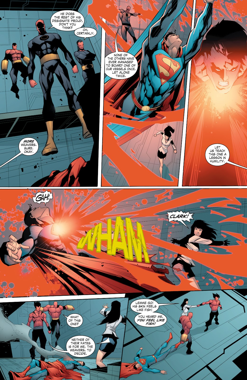 Read online Smallville Season 11 [II] comic -  Issue # TPB 8 - 140