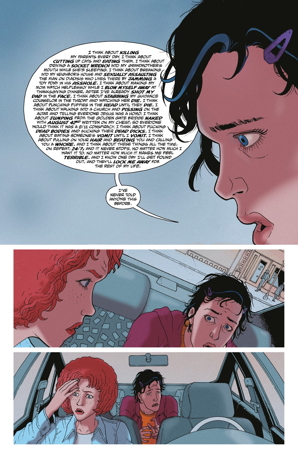 Read online She Could Fly comic -  Issue # _TPB - 88