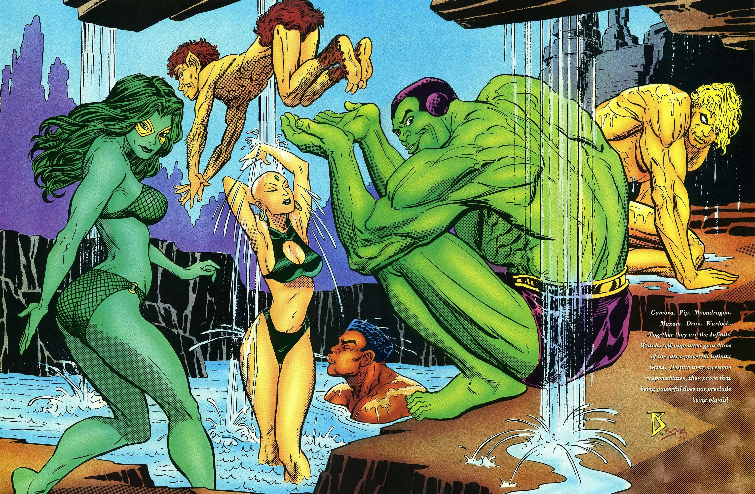 Read online Marvel Swimsuit Special comic -  Issue #3 - 41
