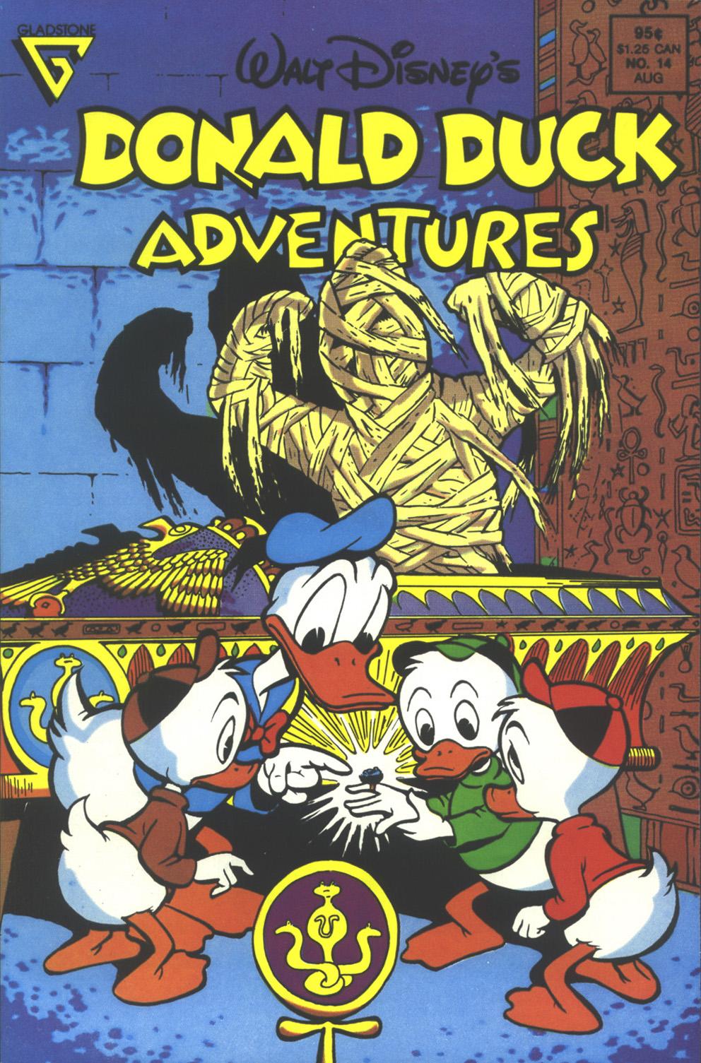 Walt Disney's Donald Duck Adventures (1987) issue 14 - Page 1