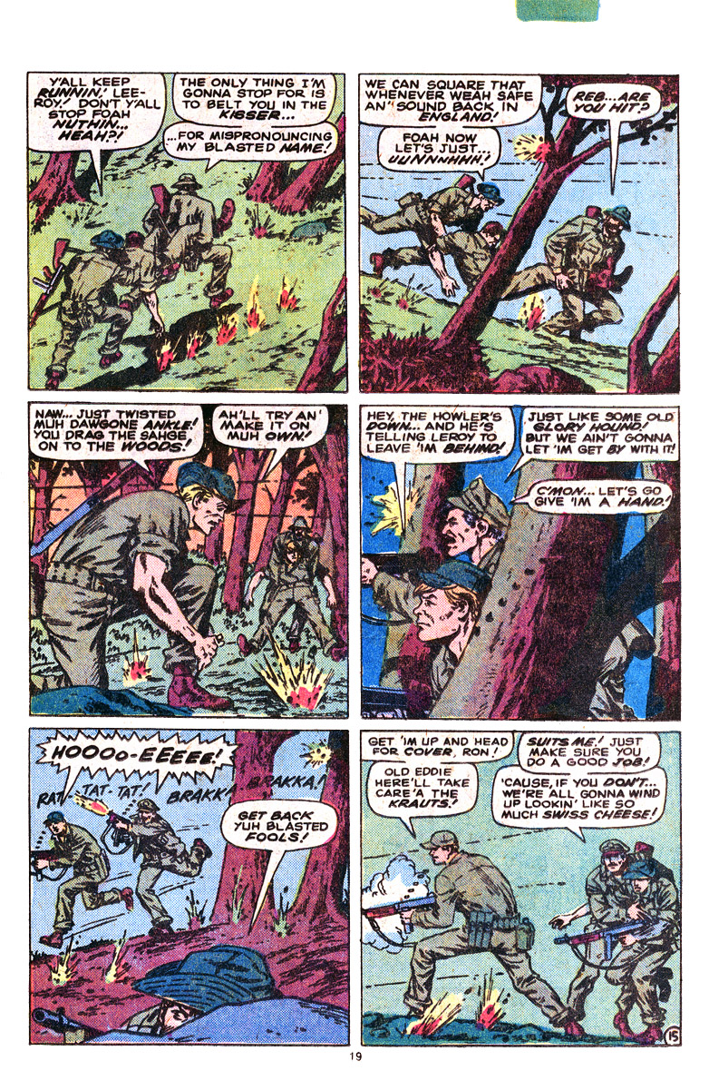 Read online Sgt. Fury comic -  Issue #164 - 21