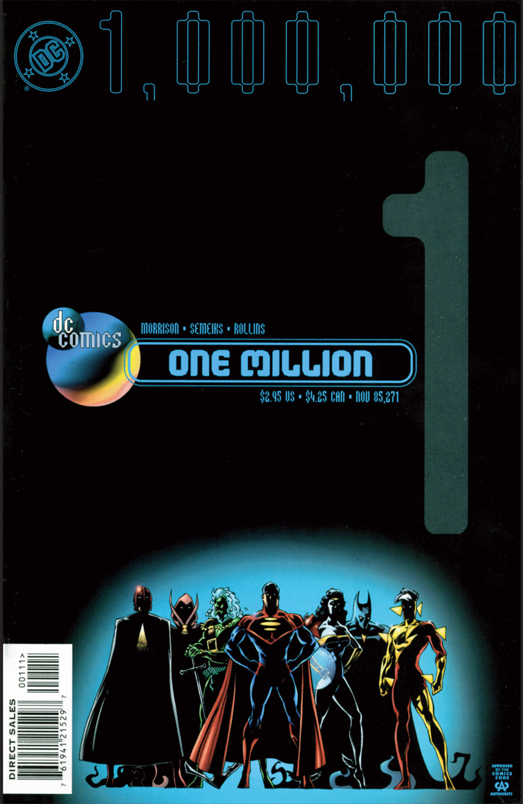 DC One Million (1998) 1 Page 1