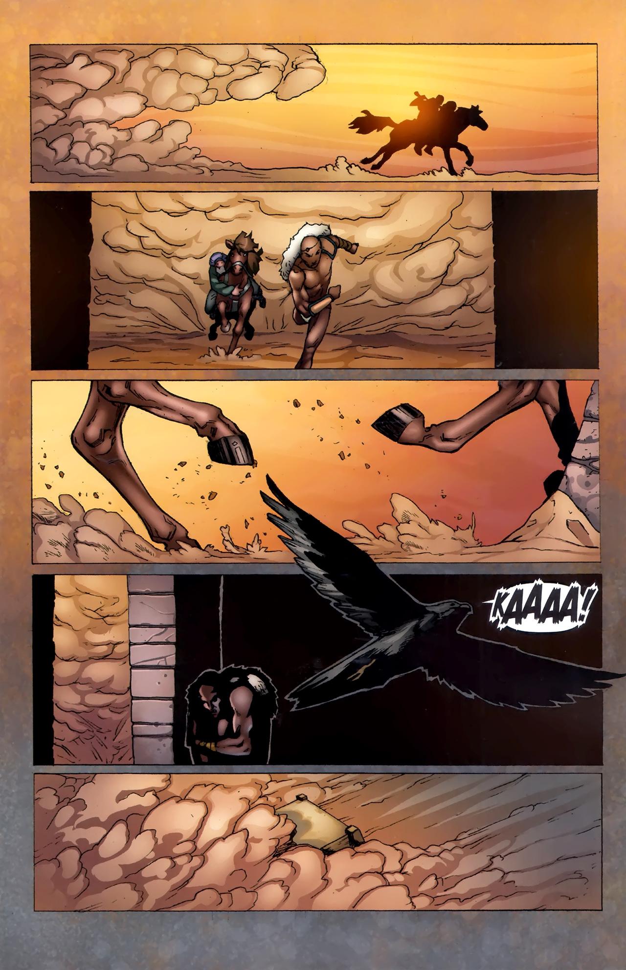 Read online 1001 Arabian Nights: The Adventures of Sinbad comic -  Issue #11 - 11