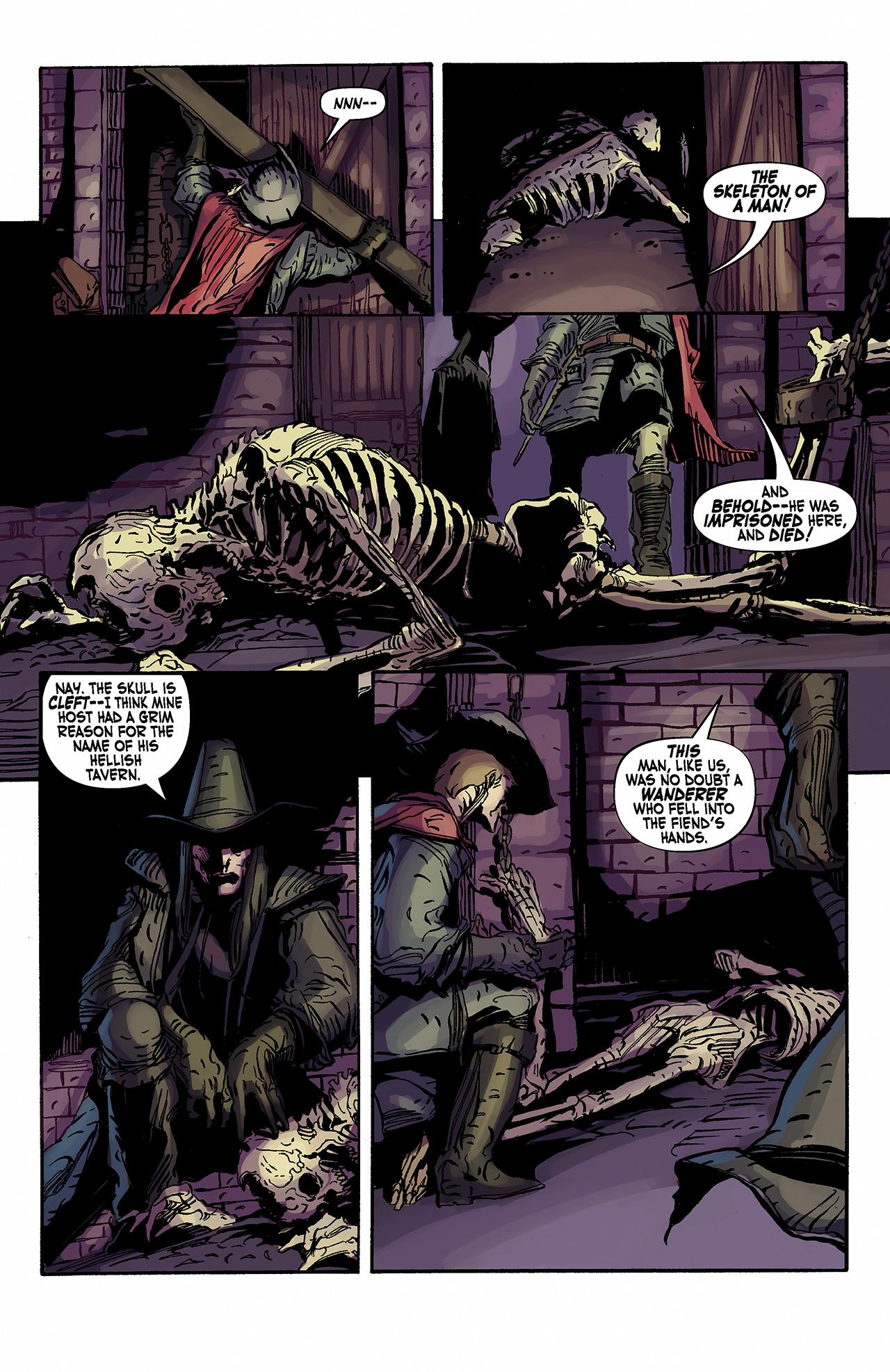 Read online Solomon Kane: Death's Black Riders comic -  Issue #2 - 14