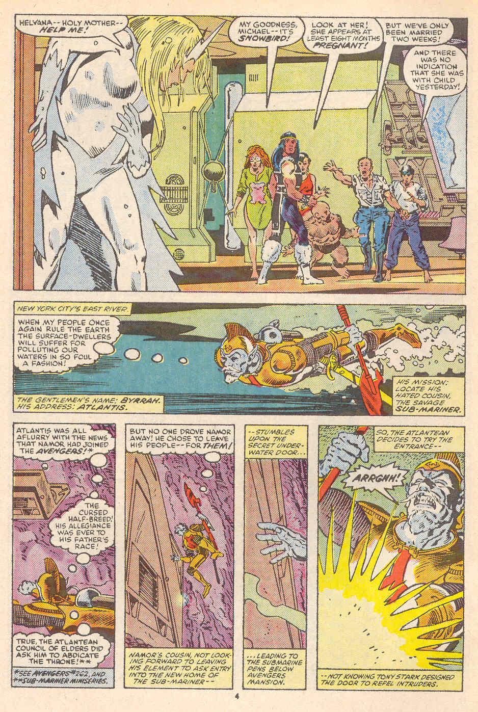 Read online Alpha Flight (1983) comic -  Issue #36 - 5