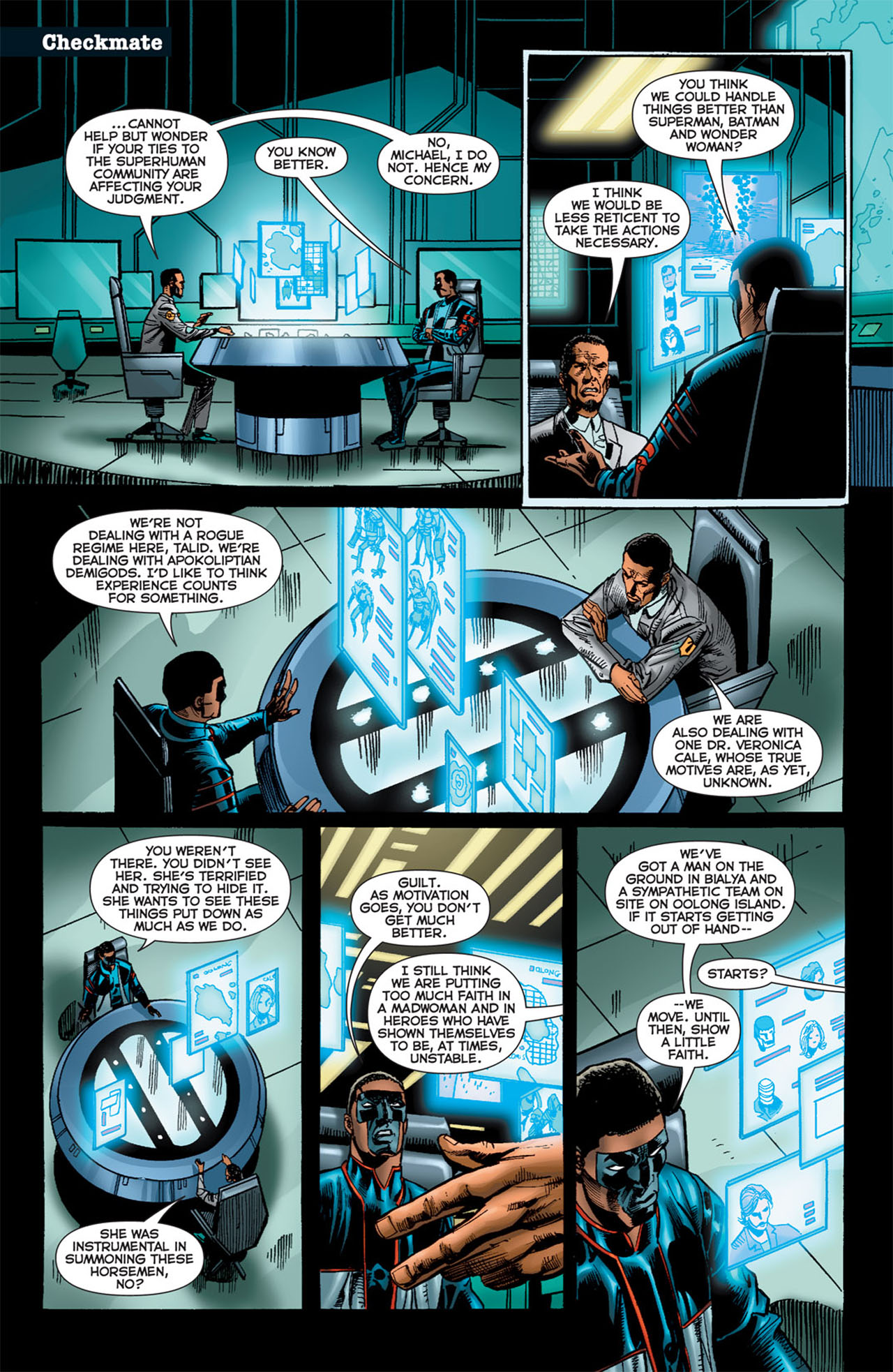 Read online 52 Aftermath: The Four Horsemen comic -  Issue #5 - 3